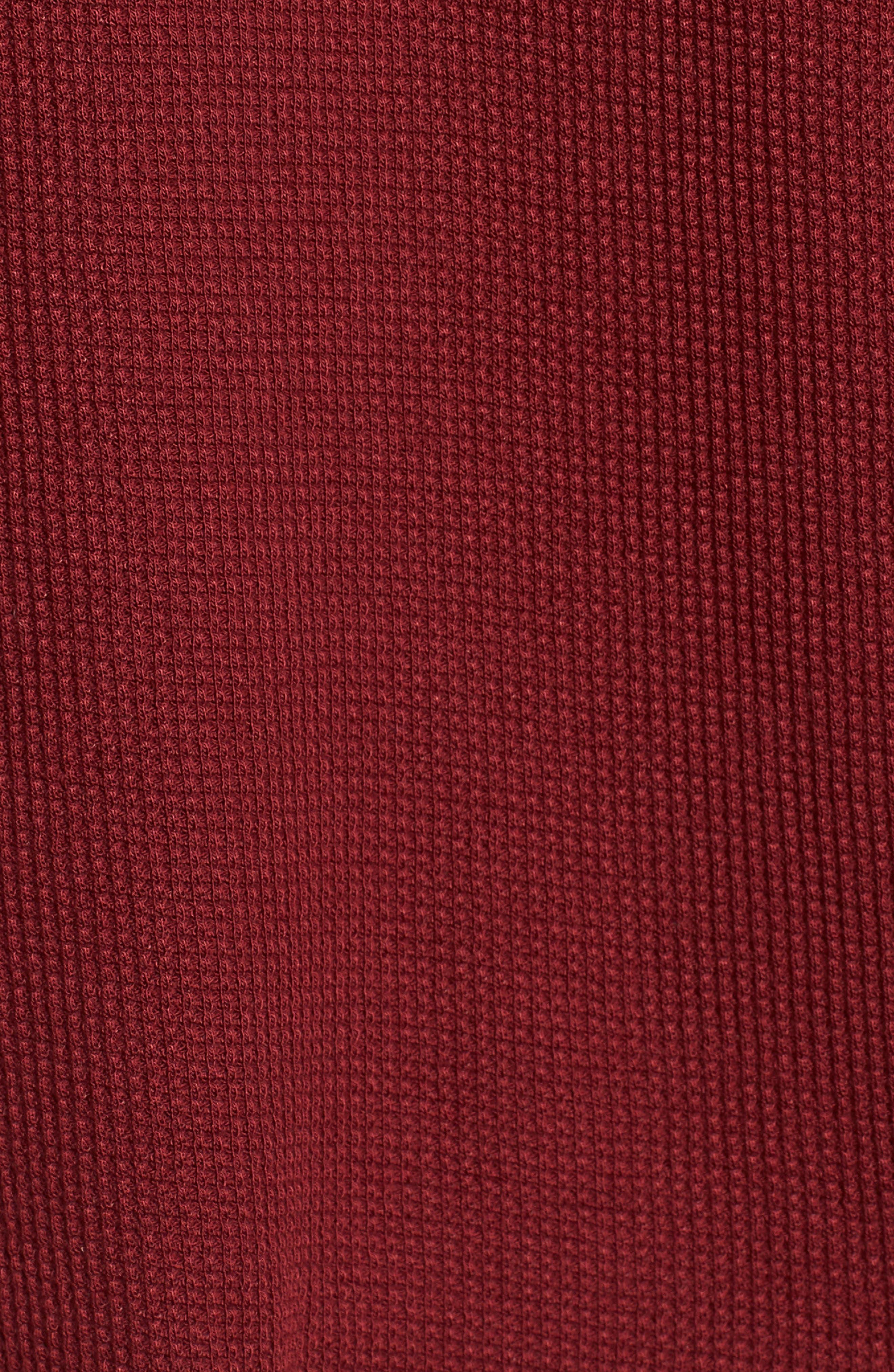 Thermal Crop Hoodie,                             Alternate thumbnail 5, color,                             611
