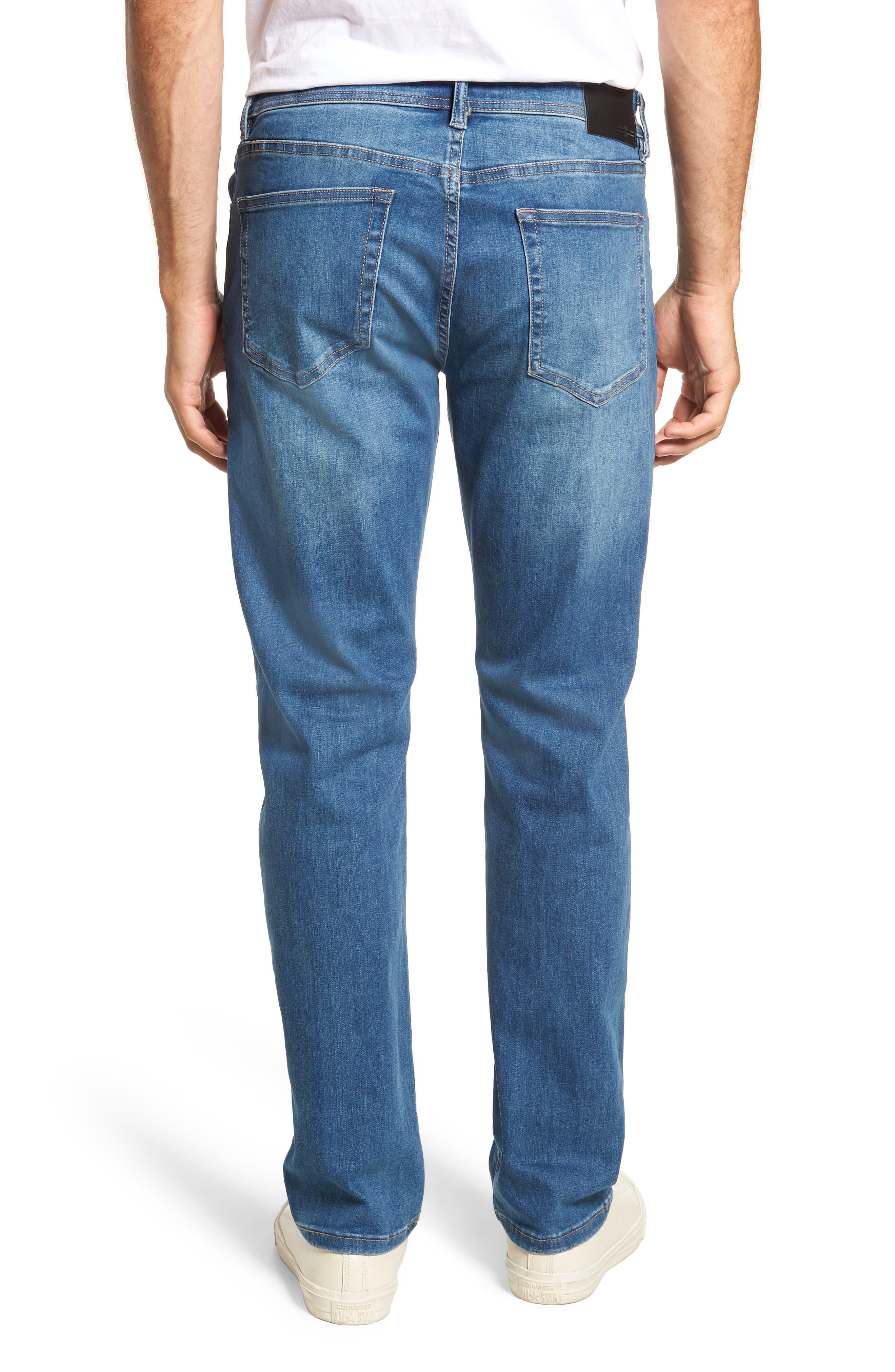 Regent Relaxed Straight Leg Jeans,                             Alternate thumbnail 2, color,                             LORAIN