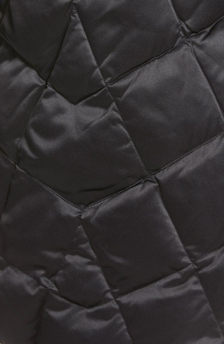 f30a2027a9b75 Kristen Blake Hooded Diamond Quilted A-Line Down Coat