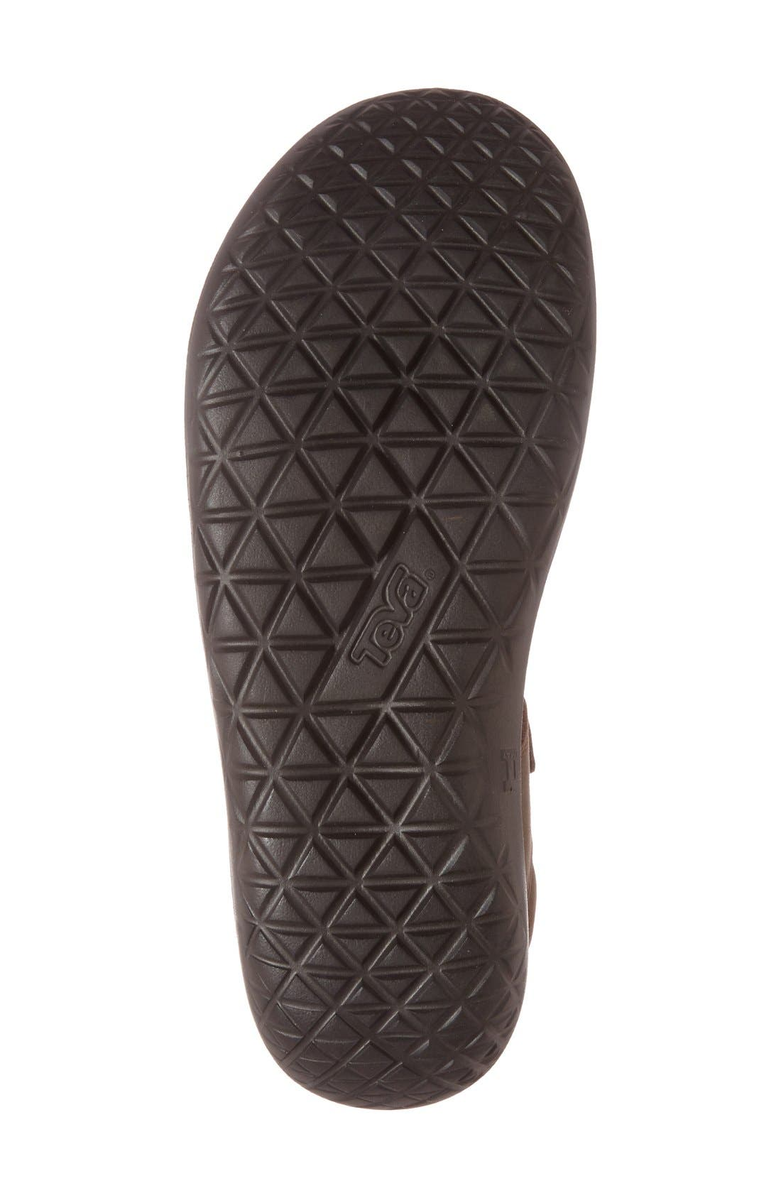 'Terra-Float Universal Lux' Sport Sandal,                             Alternate thumbnail 4, color,                             BROWN