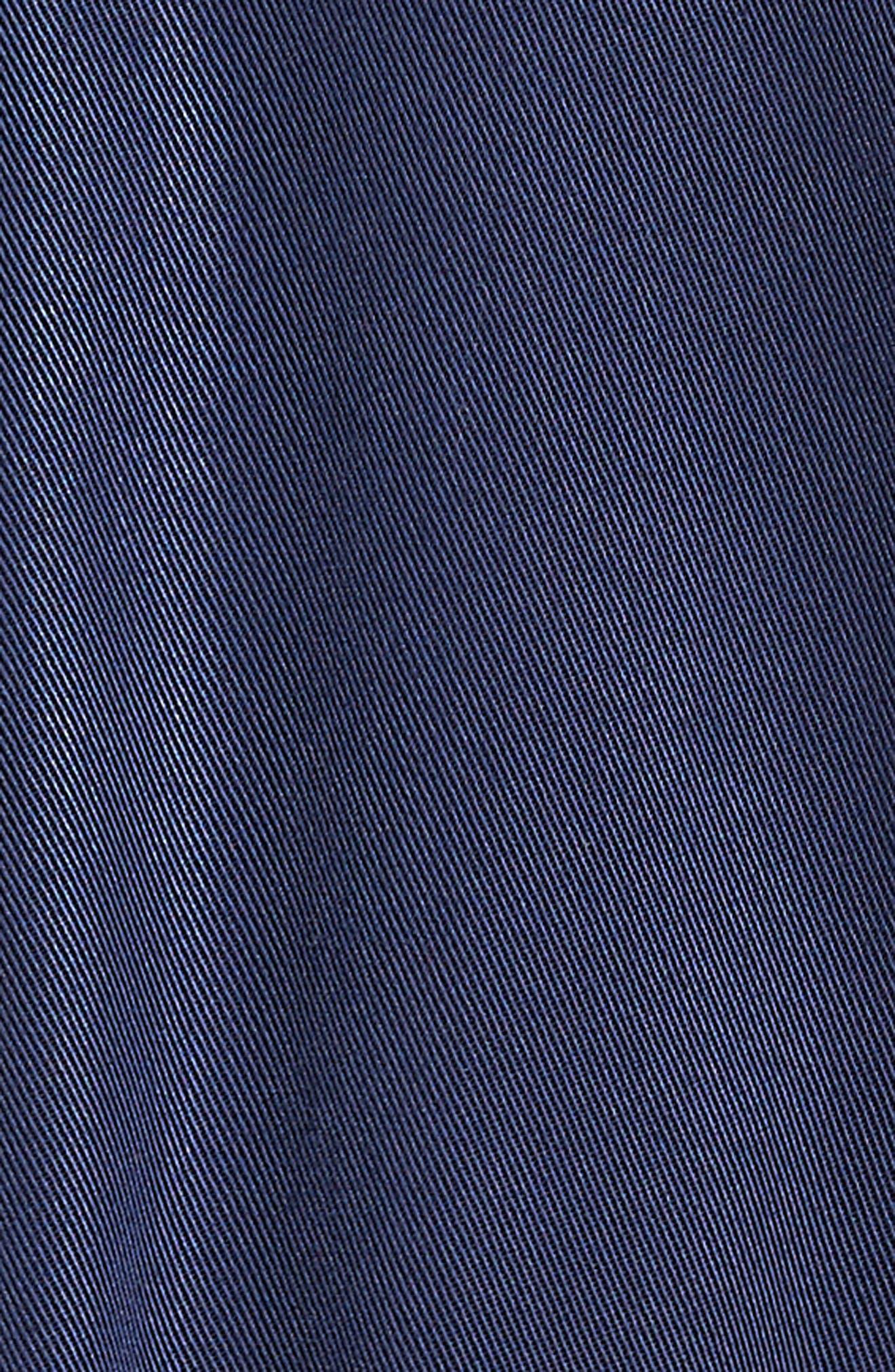 Ruffle Hem Zip Front Jacket,                             Alternate thumbnail 6, color,