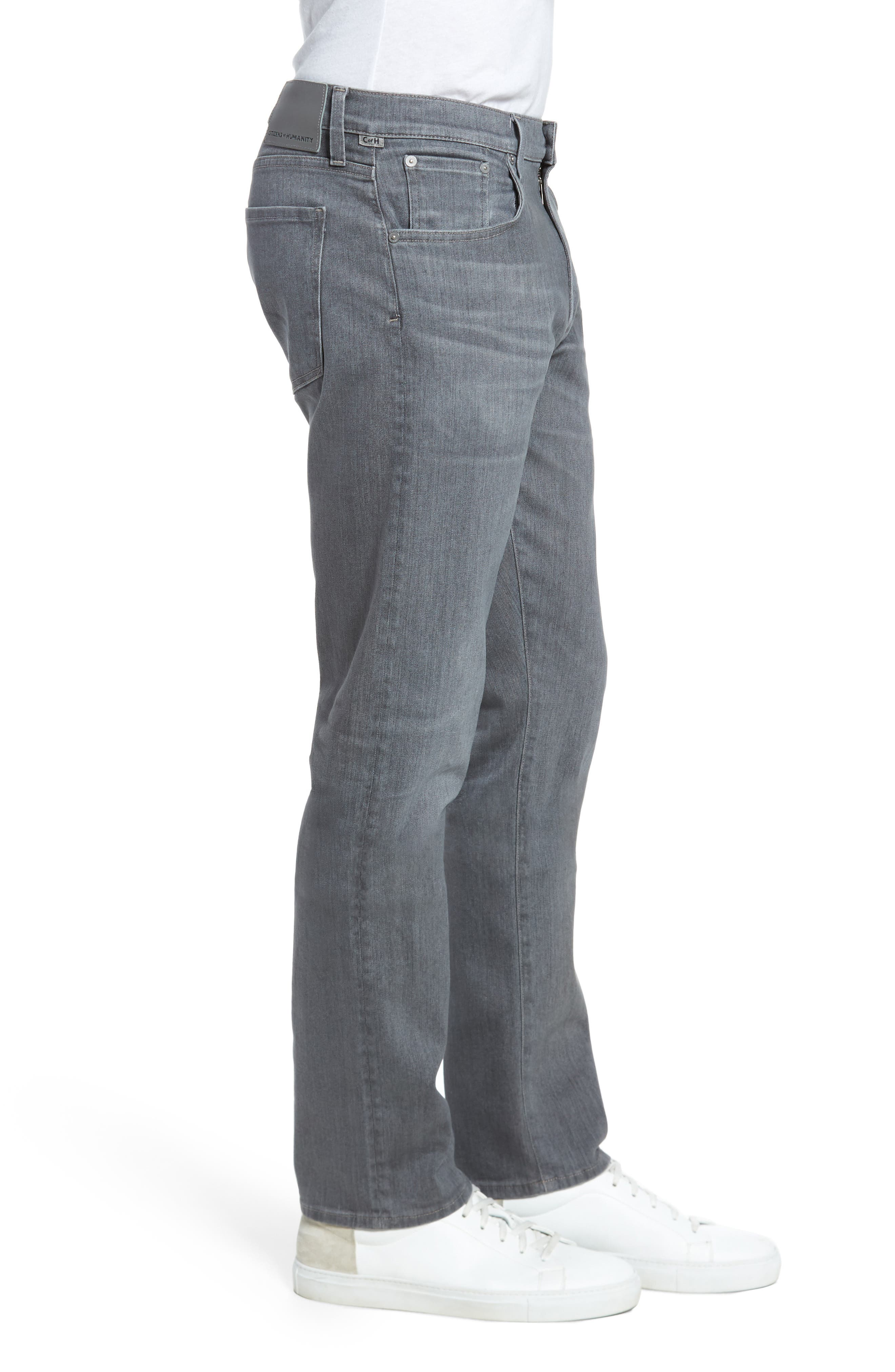 PERFORM - Gage Slim Straight Fit Jeans,                             Alternate thumbnail 3, color,                             034