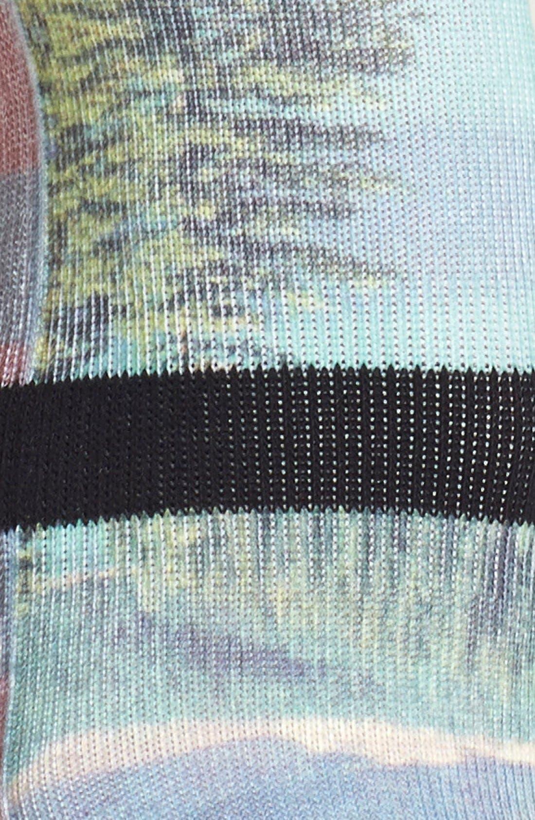 STANCE,                             'Cowboy' Print Crew Socks,                             Alternate thumbnail 3, color,                             960