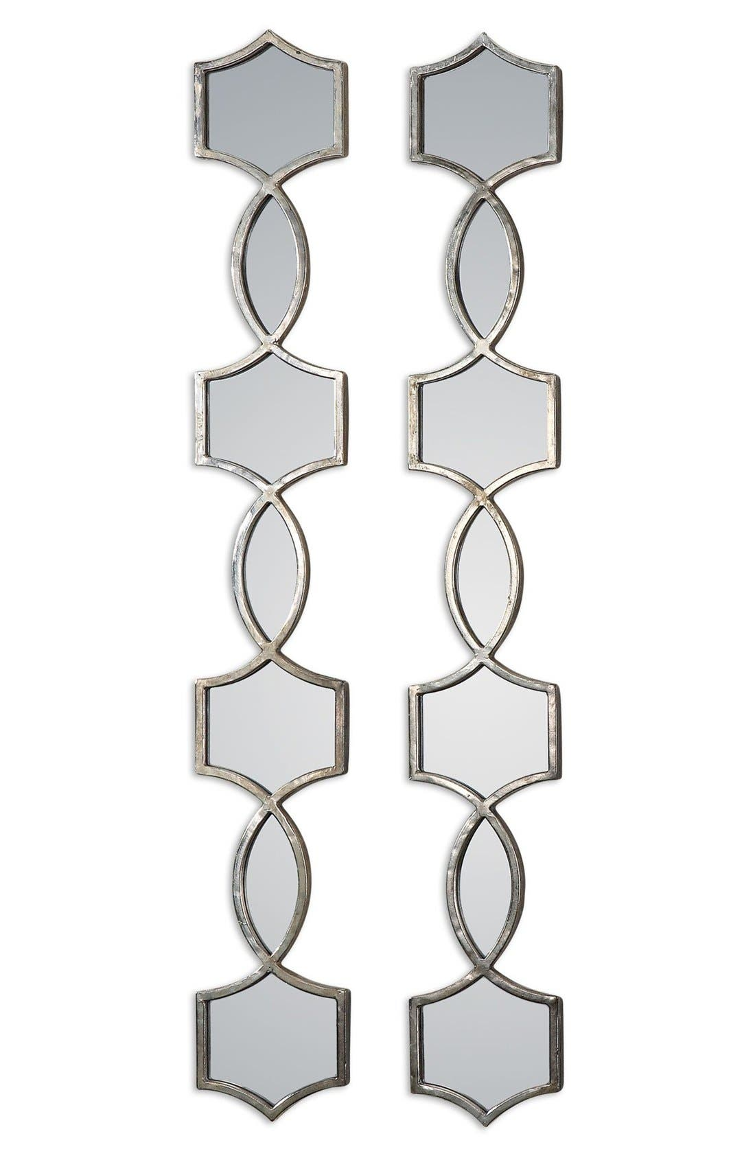 'Vizela' Metal Wall Mirrors,                             Main thumbnail 1, color,