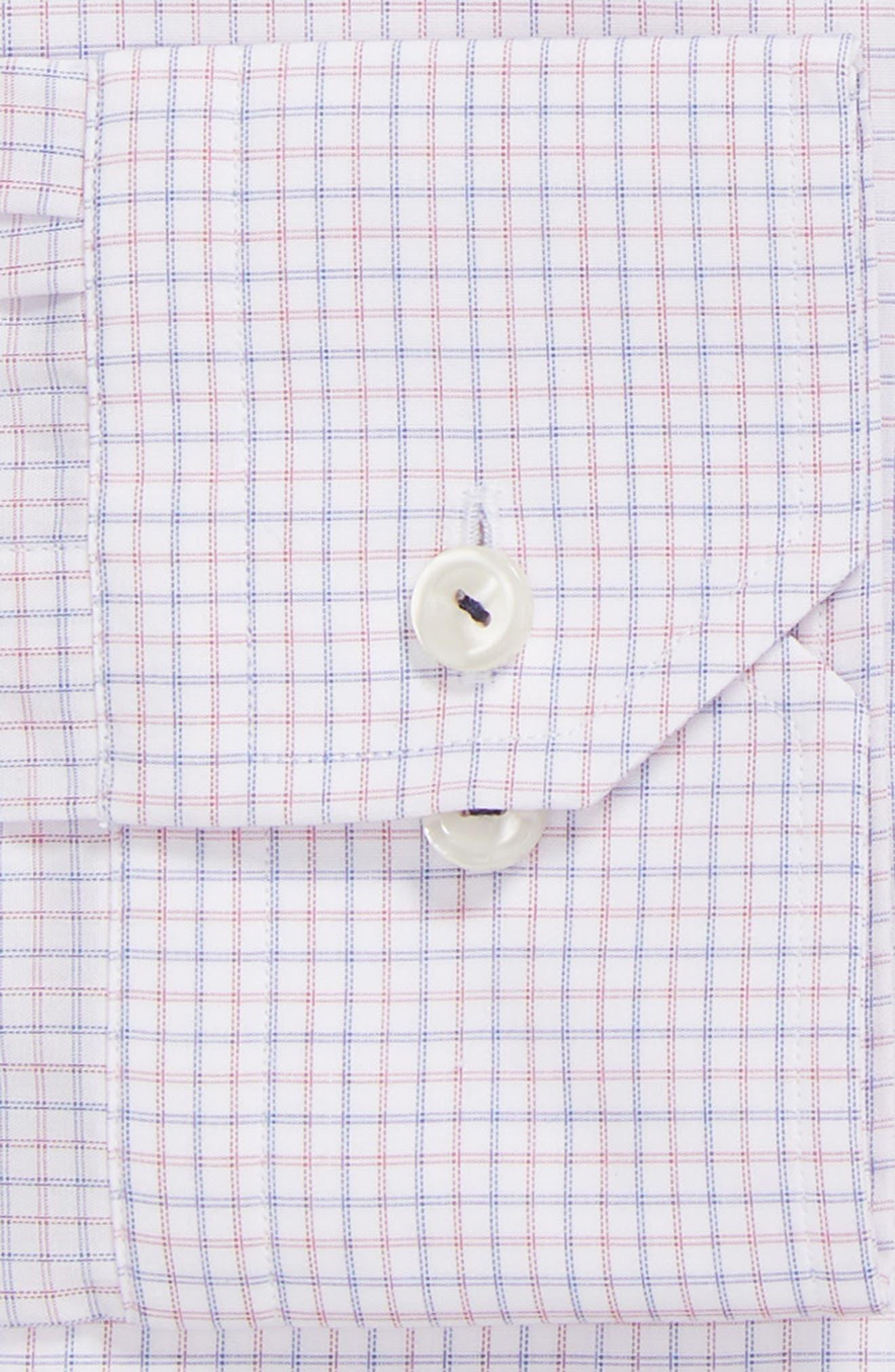 Contemporary Fit Check Dress Shirt,                             Alternate thumbnail 6, color,                             651