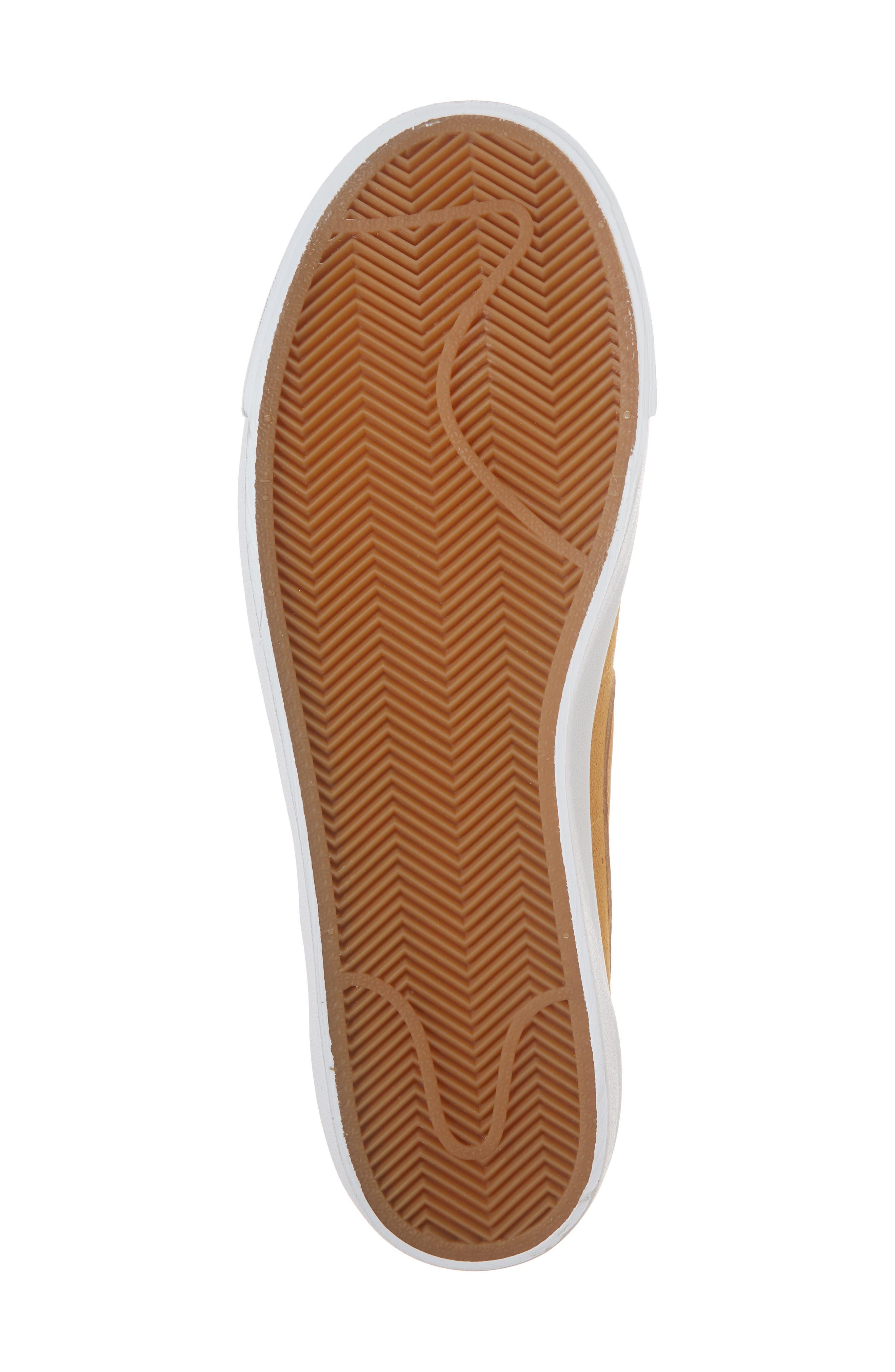Blazer Low Suede Sneaker,                             Alternate thumbnail 6, color,                             260
