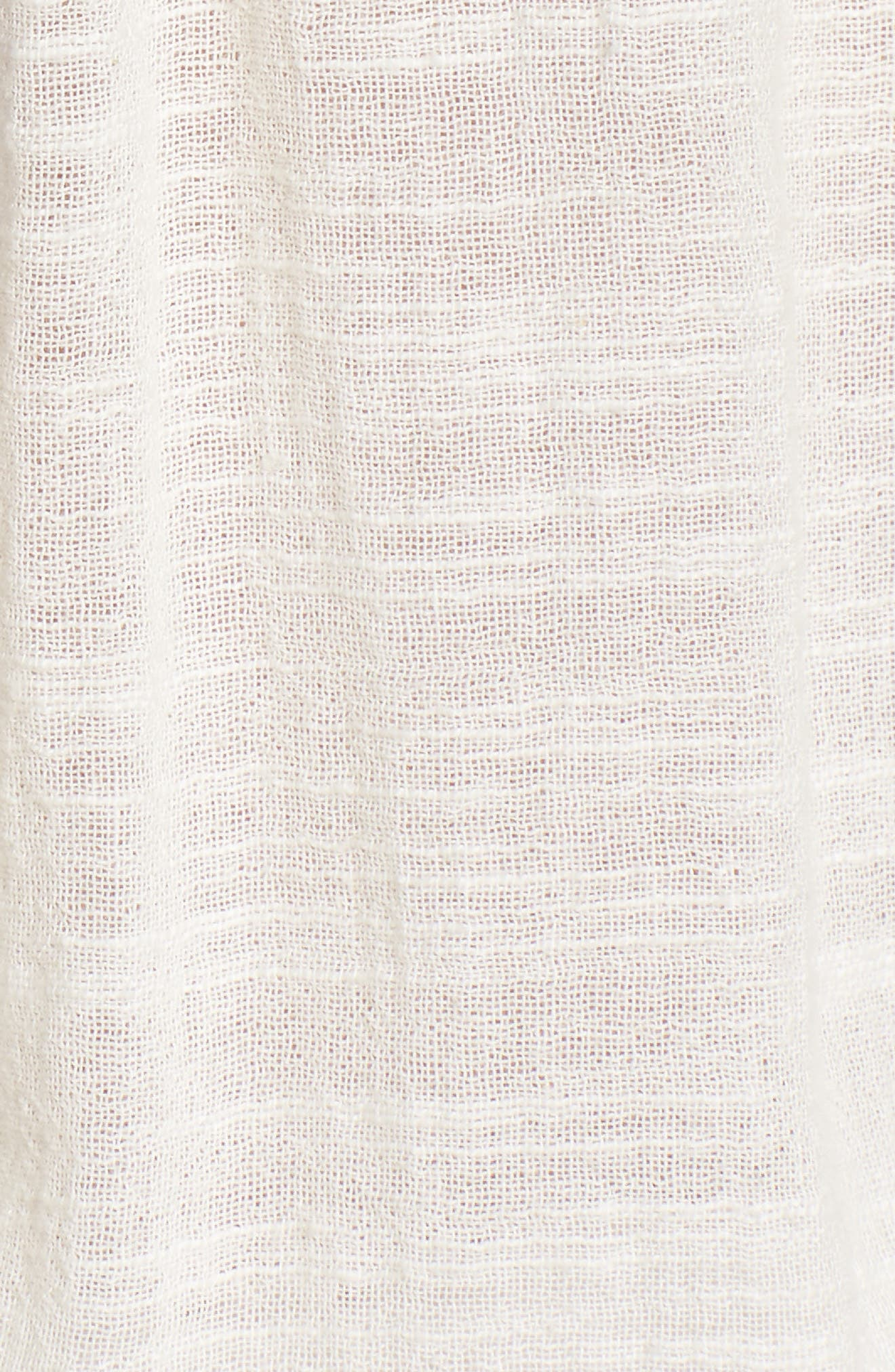 RAGA,                             Eva Embroidered Off the Shoulder Romper,                             Alternate thumbnail 5, color,                             902
