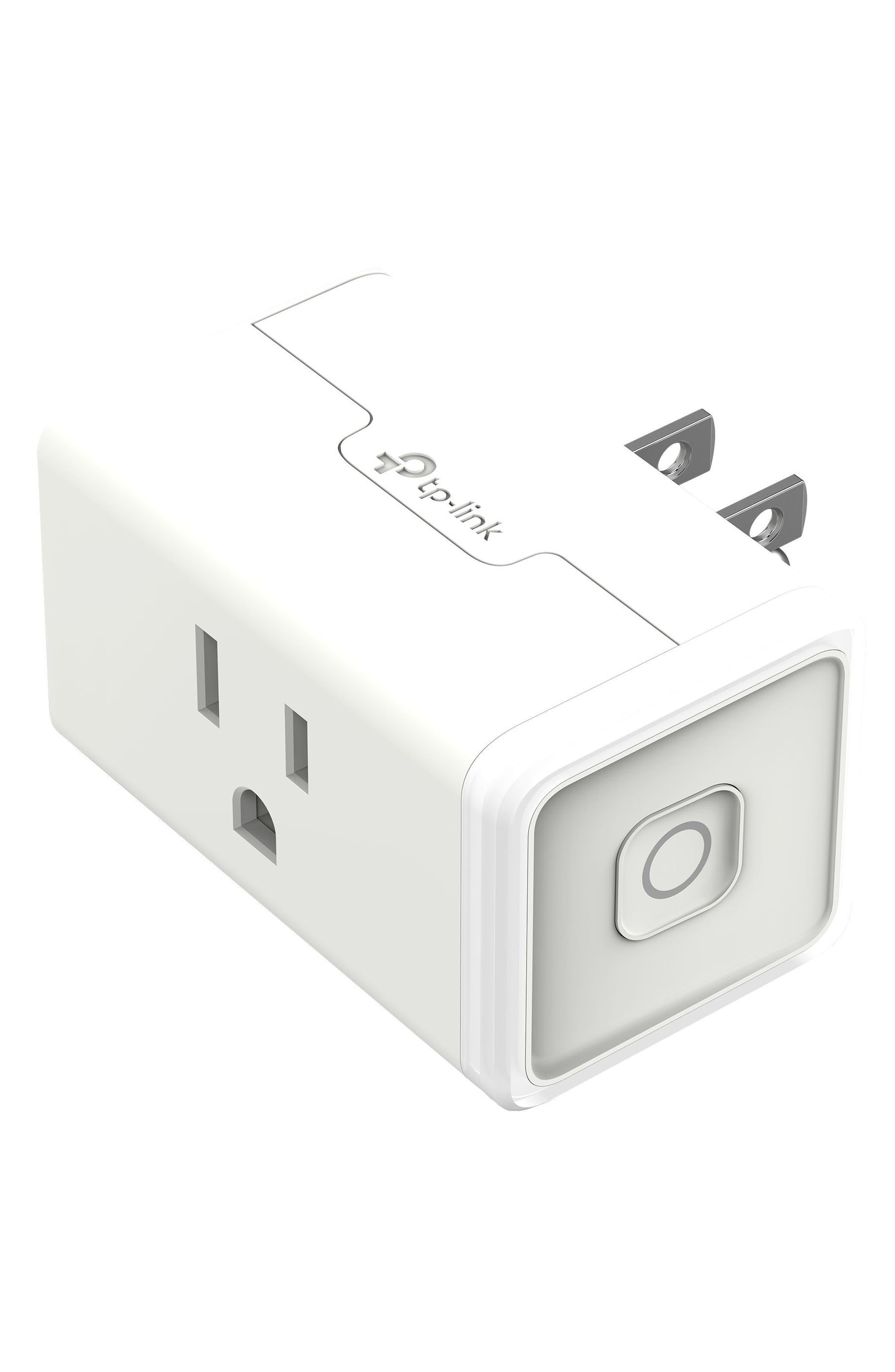 Smart Wi-Fi Mini Plug,                             Main thumbnail 1, color,                             WHITE