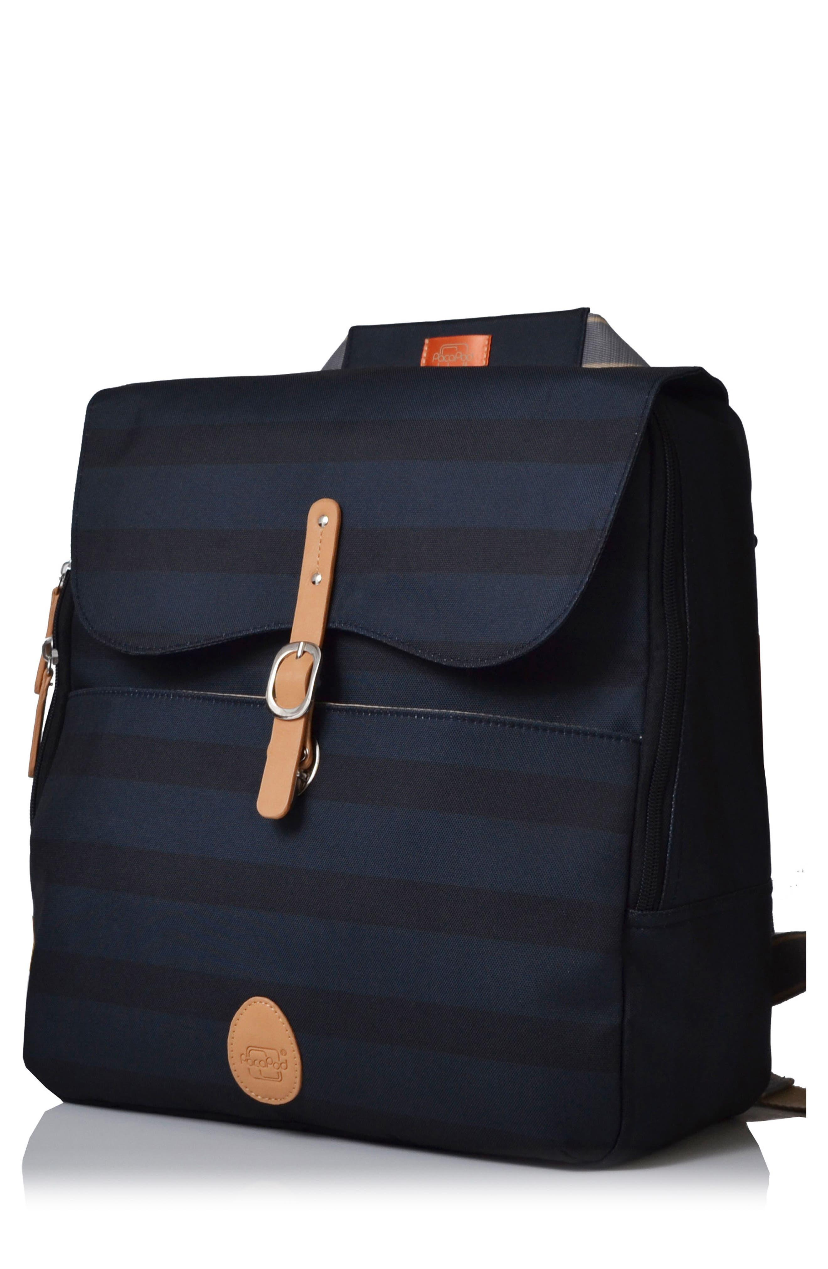 'Hastings' Diaper Bag,                         Main,                         color, INK STRIPE