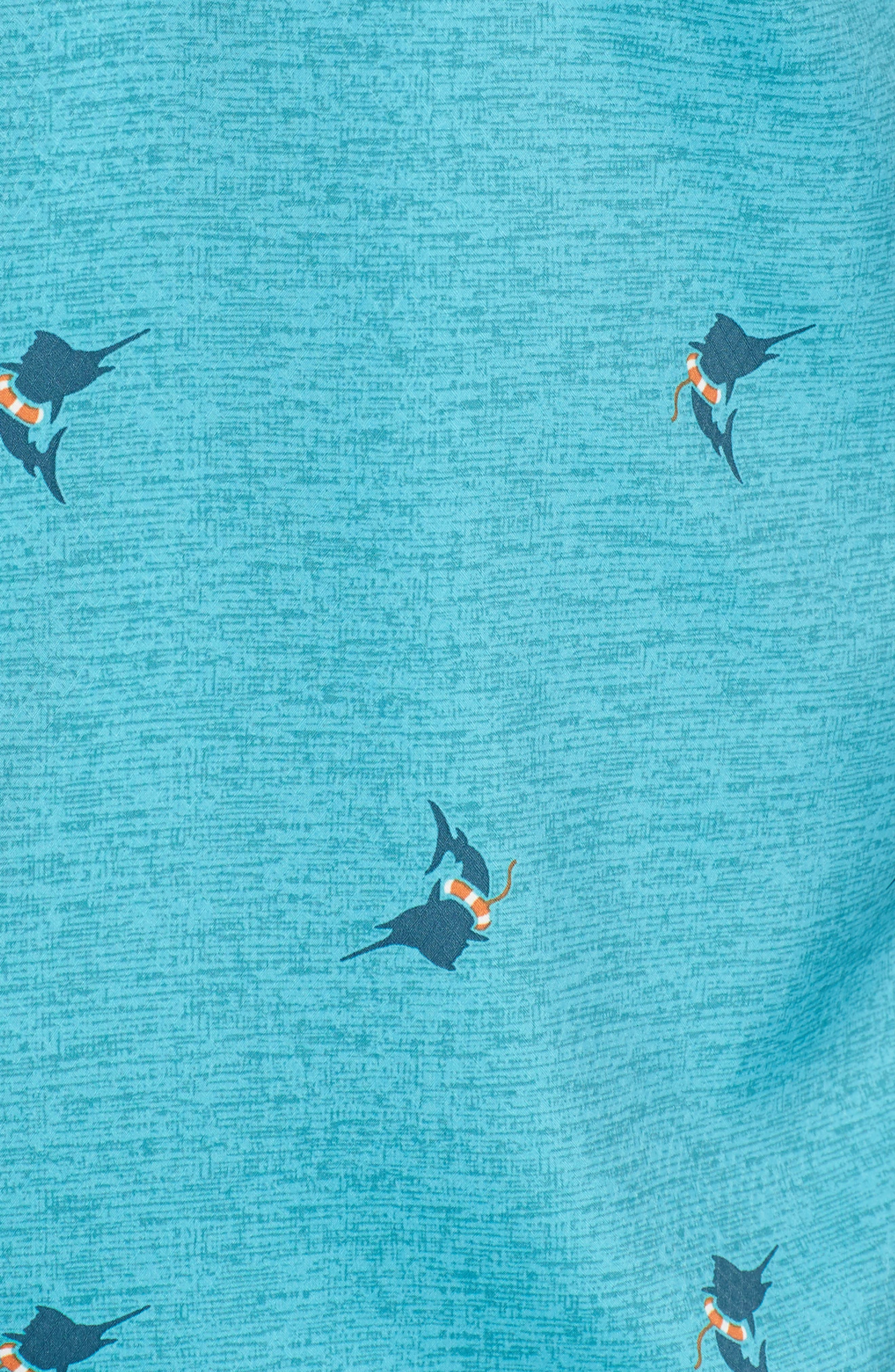 Super Slack Tide Patterned Woven Shirt,                             Alternate thumbnail 23, color,