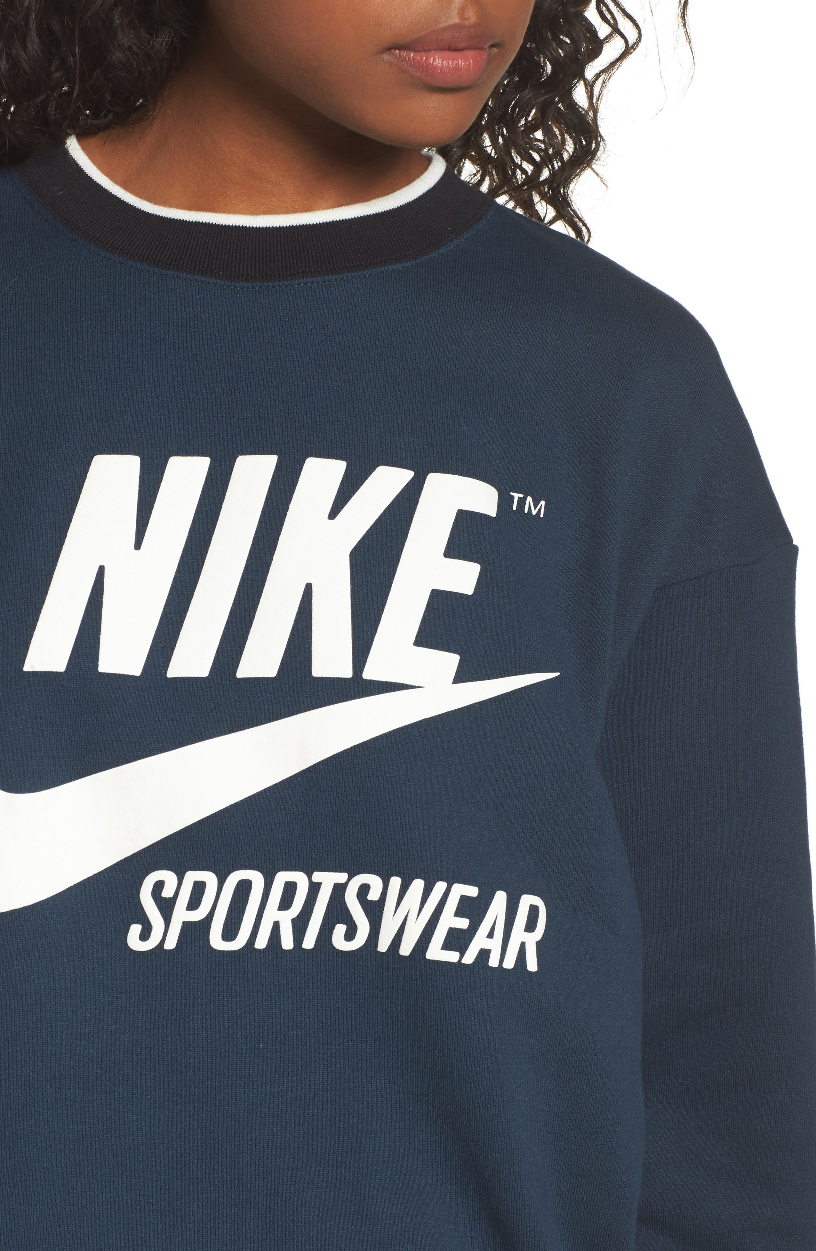 Sportswear Archive Sweatshirt,                             Alternate thumbnail 4, color,                             454