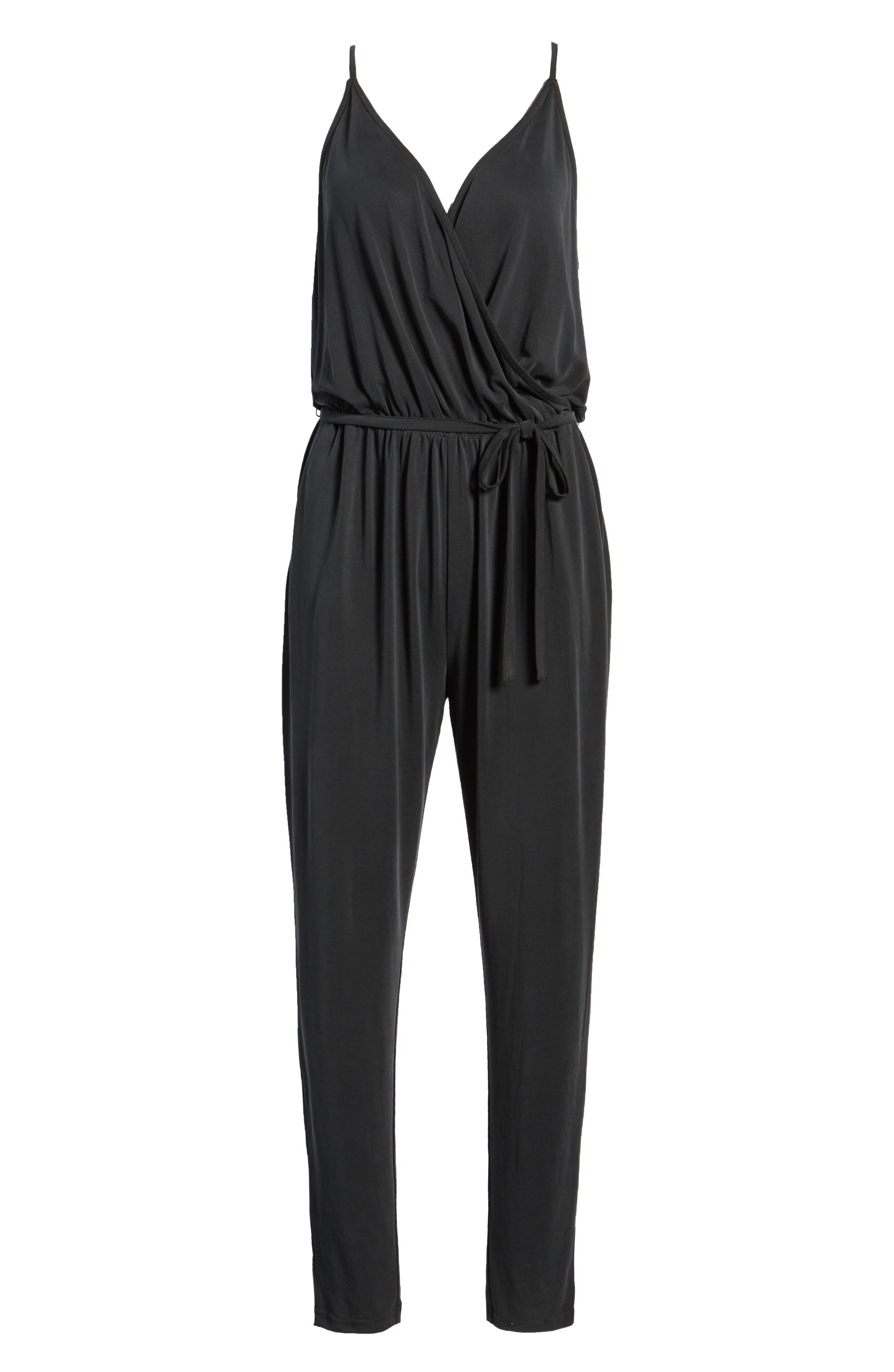 LIRA CLOTHING,                             Marni Jumpsuit,                             Alternate thumbnail 7, color,                             001