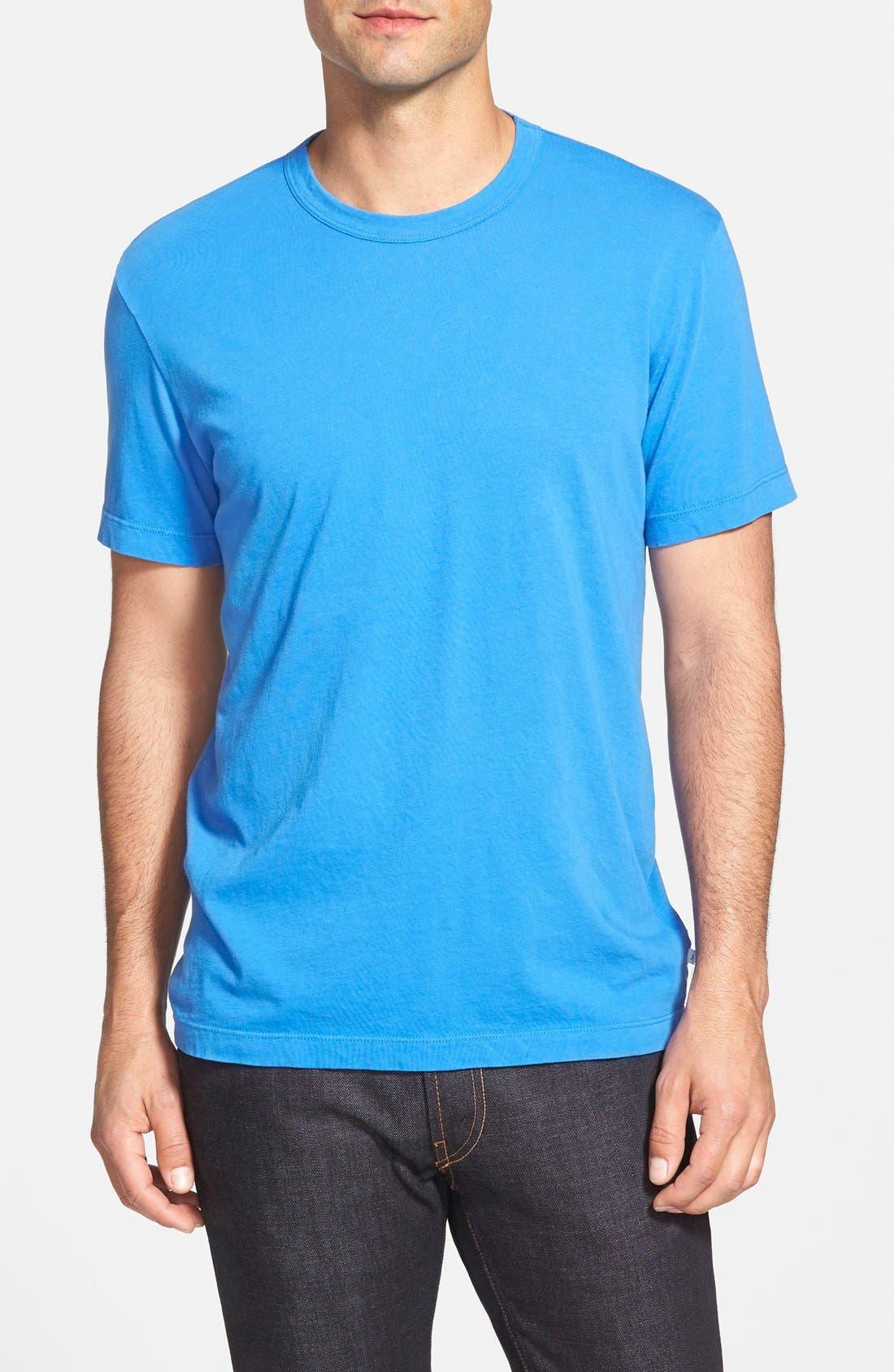 Crewneck Jersey T-Shirt,                             Main thumbnail 74, color,