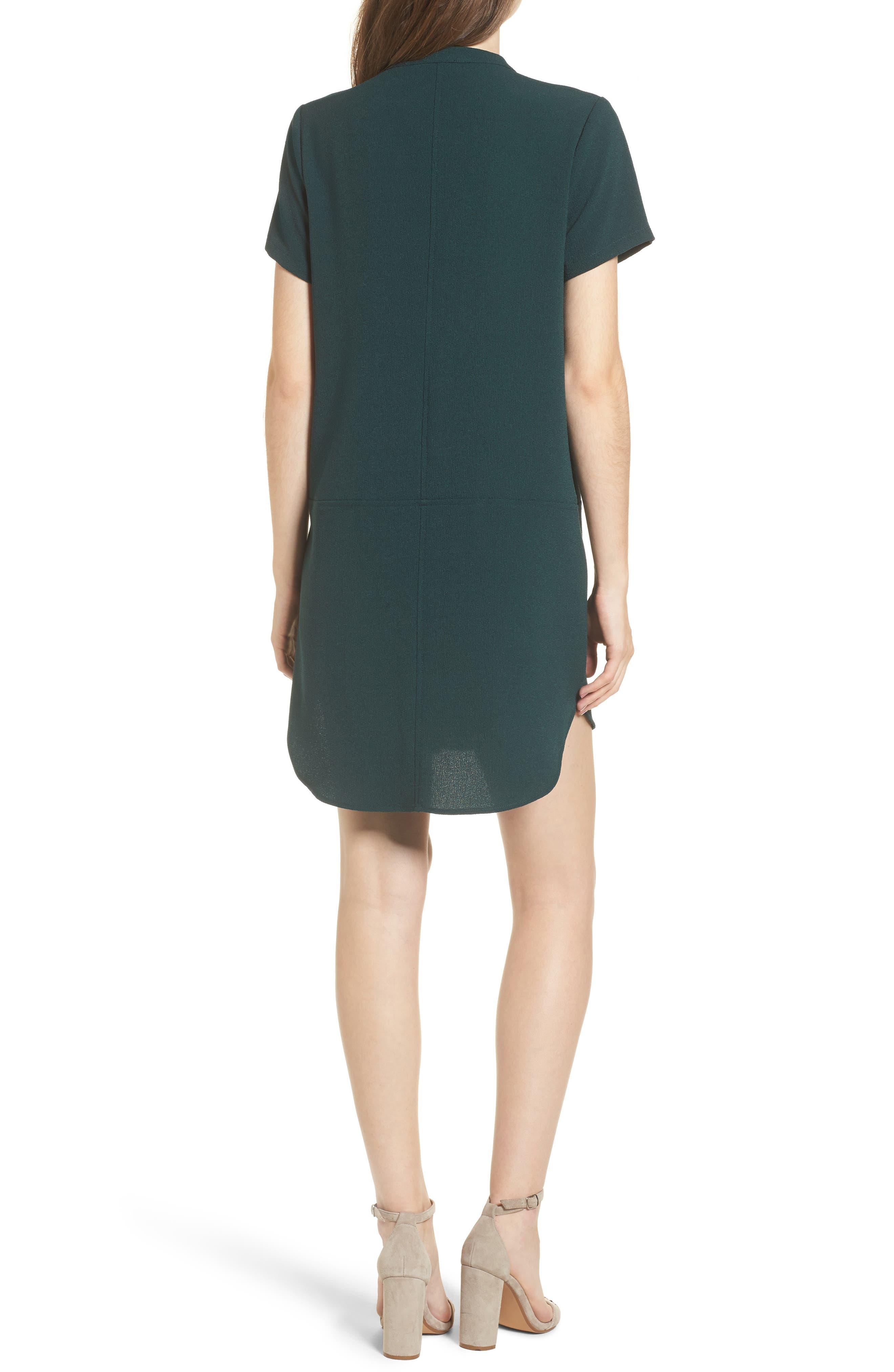 Hailey Crepe Dress,                             Alternate thumbnail 36, color,