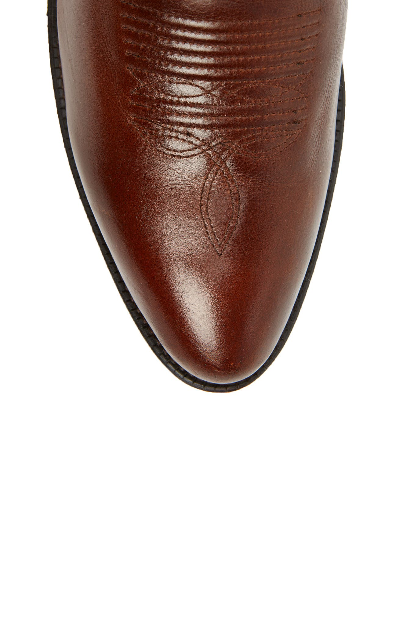 Circuit Tall Cowboy Boot,                             Alternate thumbnail 5, color,                             SPRUCED COGNAC LEATHER
