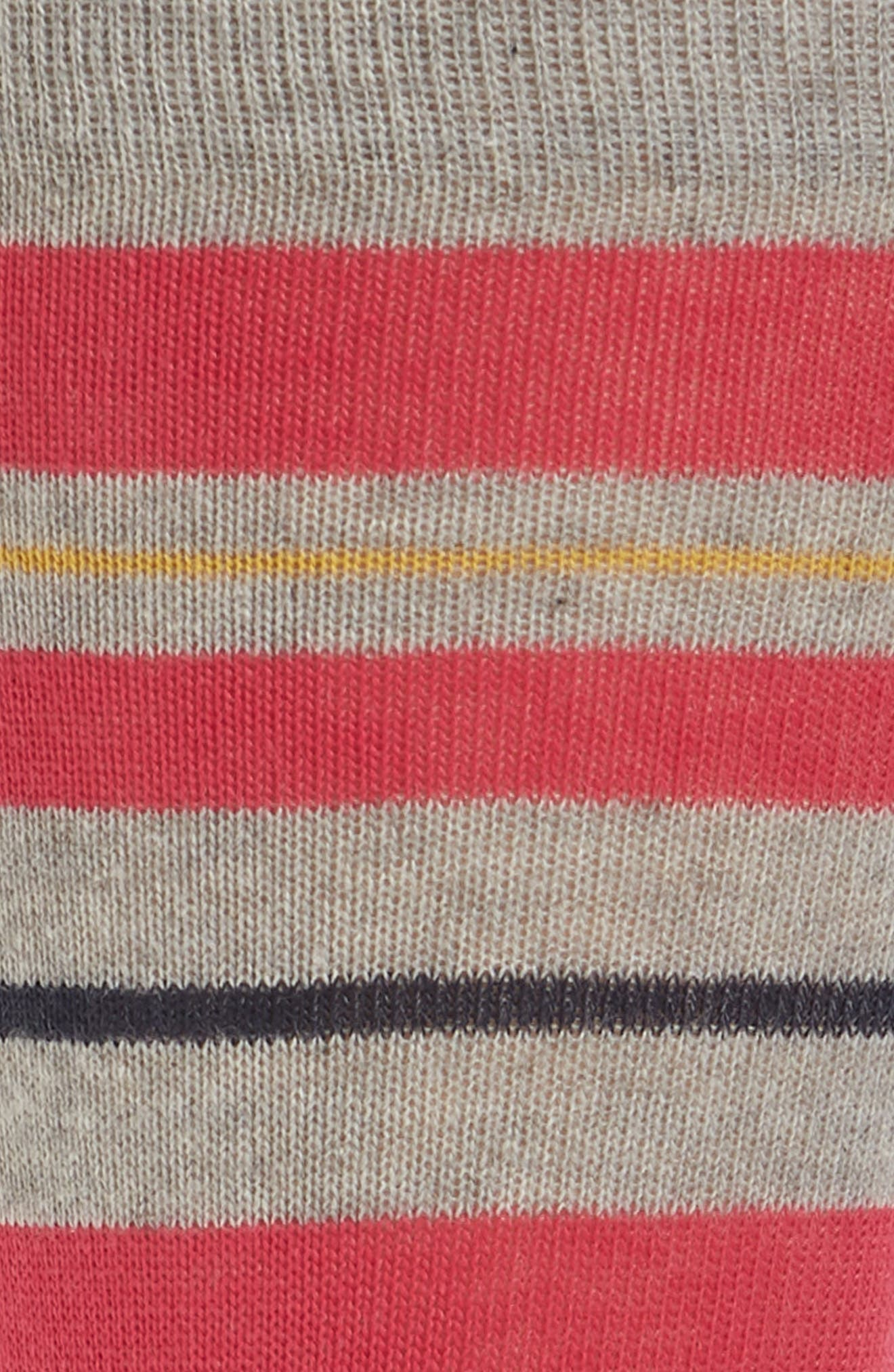 Uneven Stripe Socks,                             Alternate thumbnail 2, color,                             020