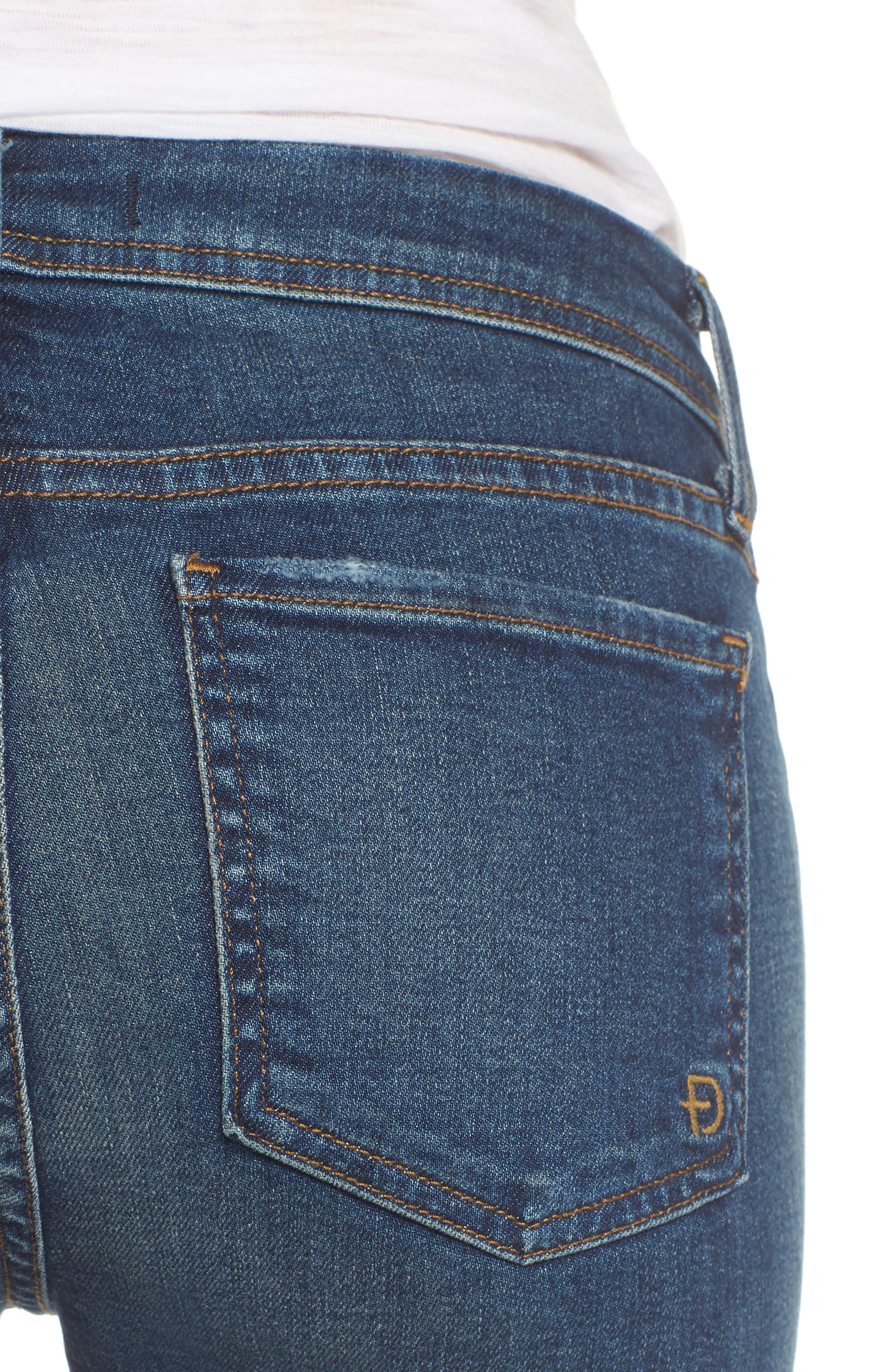 Belvedere Crop Skinny Jeans,                             Alternate thumbnail 4, color,