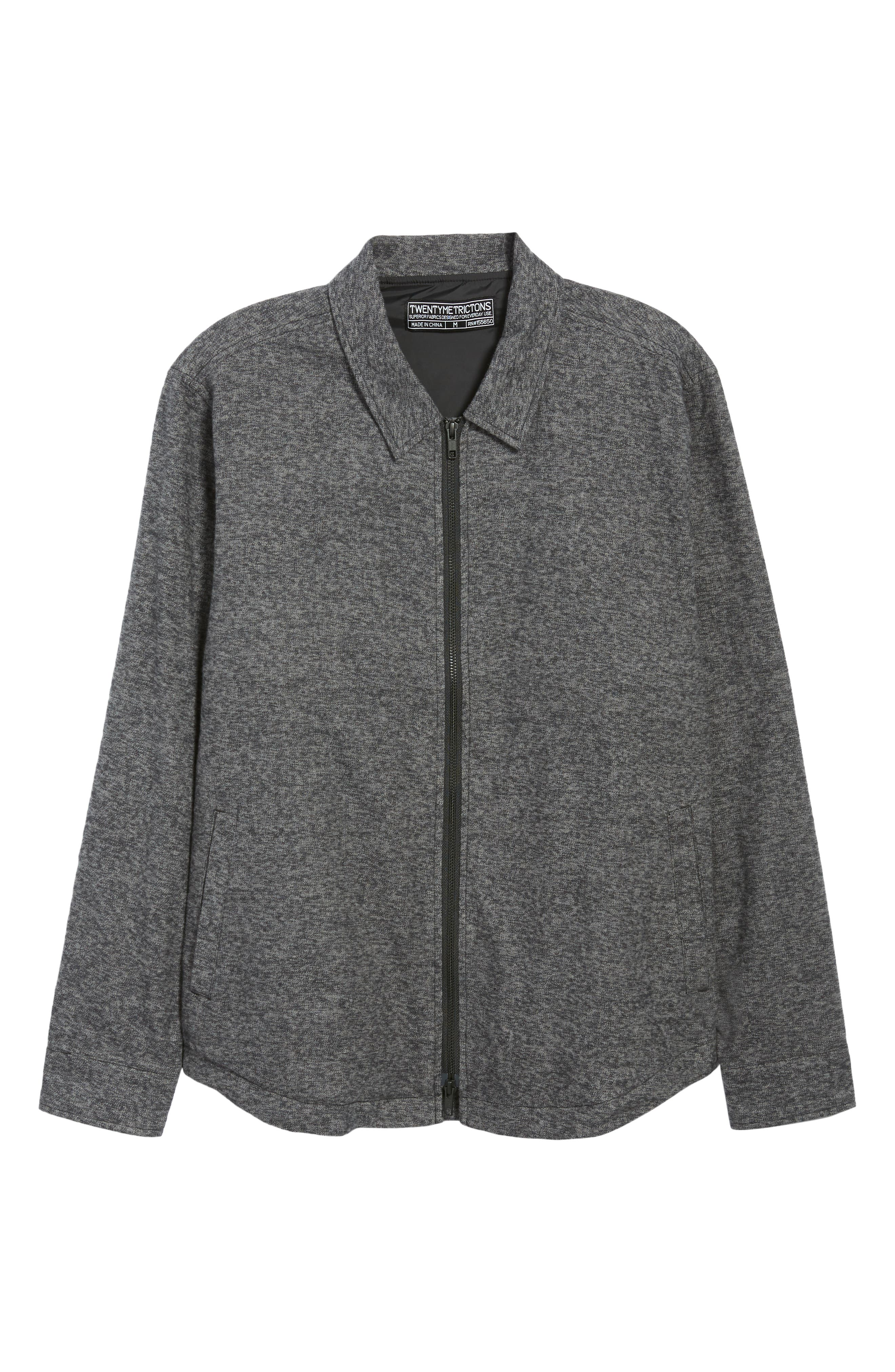 Trim Shirt Jacket,                             Alternate thumbnail 5, color,                             020