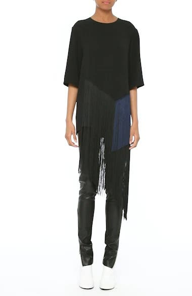 Stretch Cady Fringe Top, video thumbnail