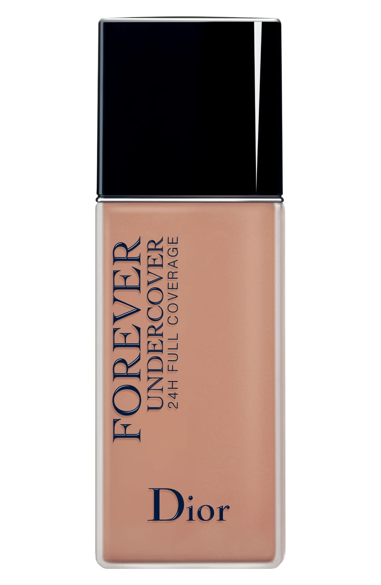 Dior Diorskin Forever Undercover 24-Hour Full Coverage Water-Based Foundation - 044 Dark Almond