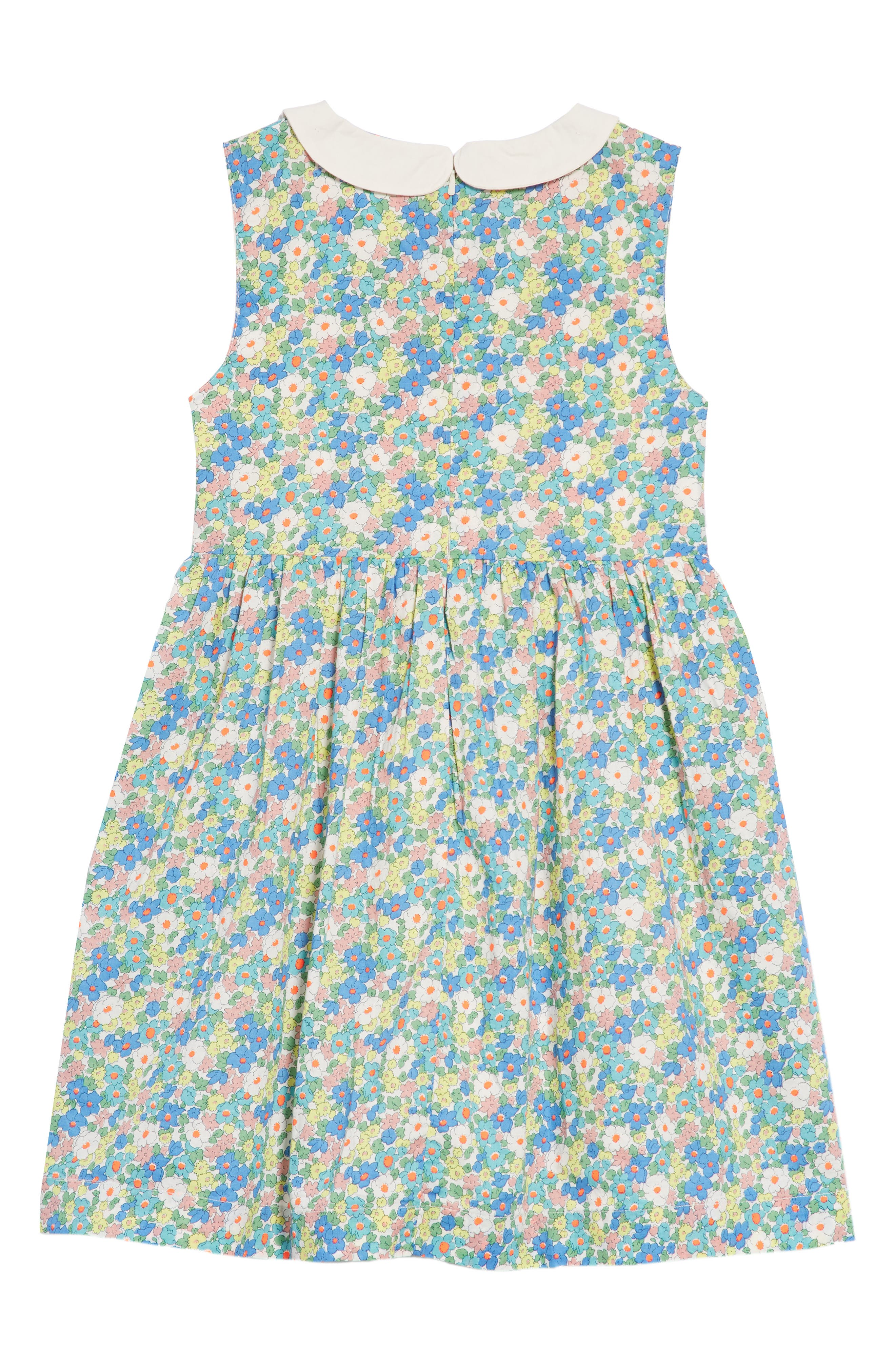 Nostalgic Smocked Dress,                             Alternate thumbnail 2, color,                             406