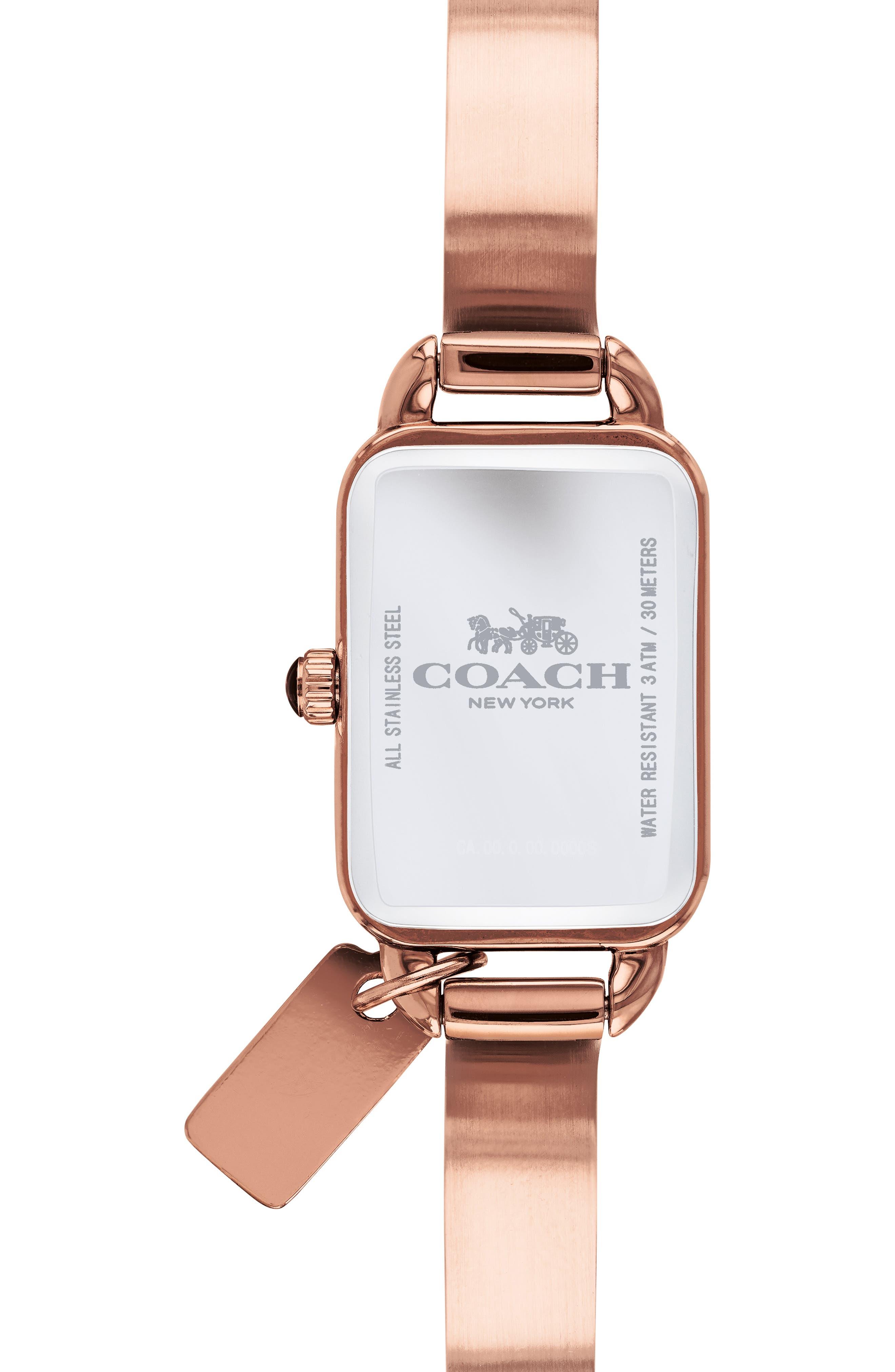 Ludlow Bracelet Watch, 17mm,                             Alternate thumbnail 2, color,                             ROSE GOLD