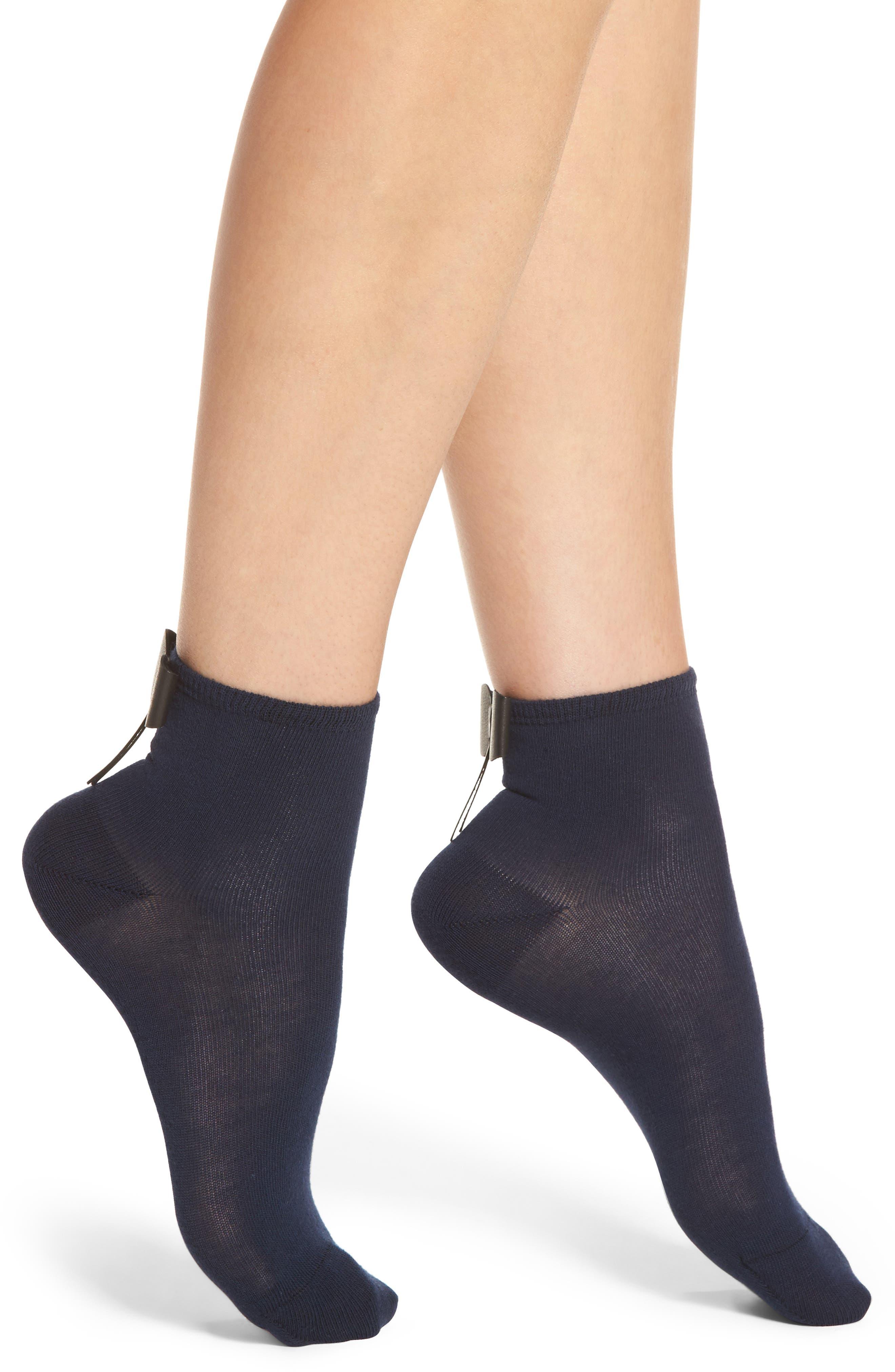 Bow Socks,                             Main thumbnail 2, color,