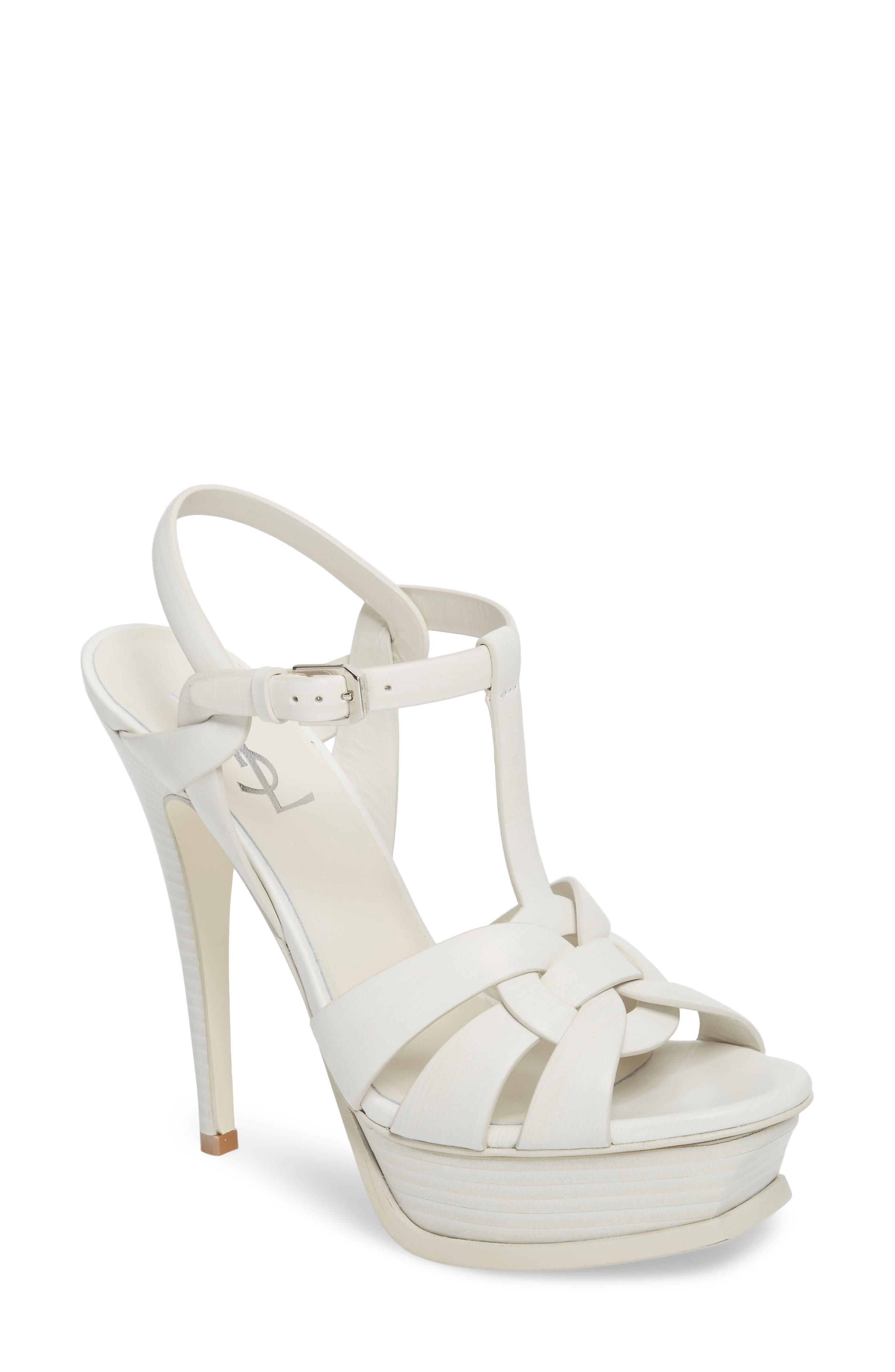 'Tribute' Sandal,                         Main,                         color, PORCELLANA