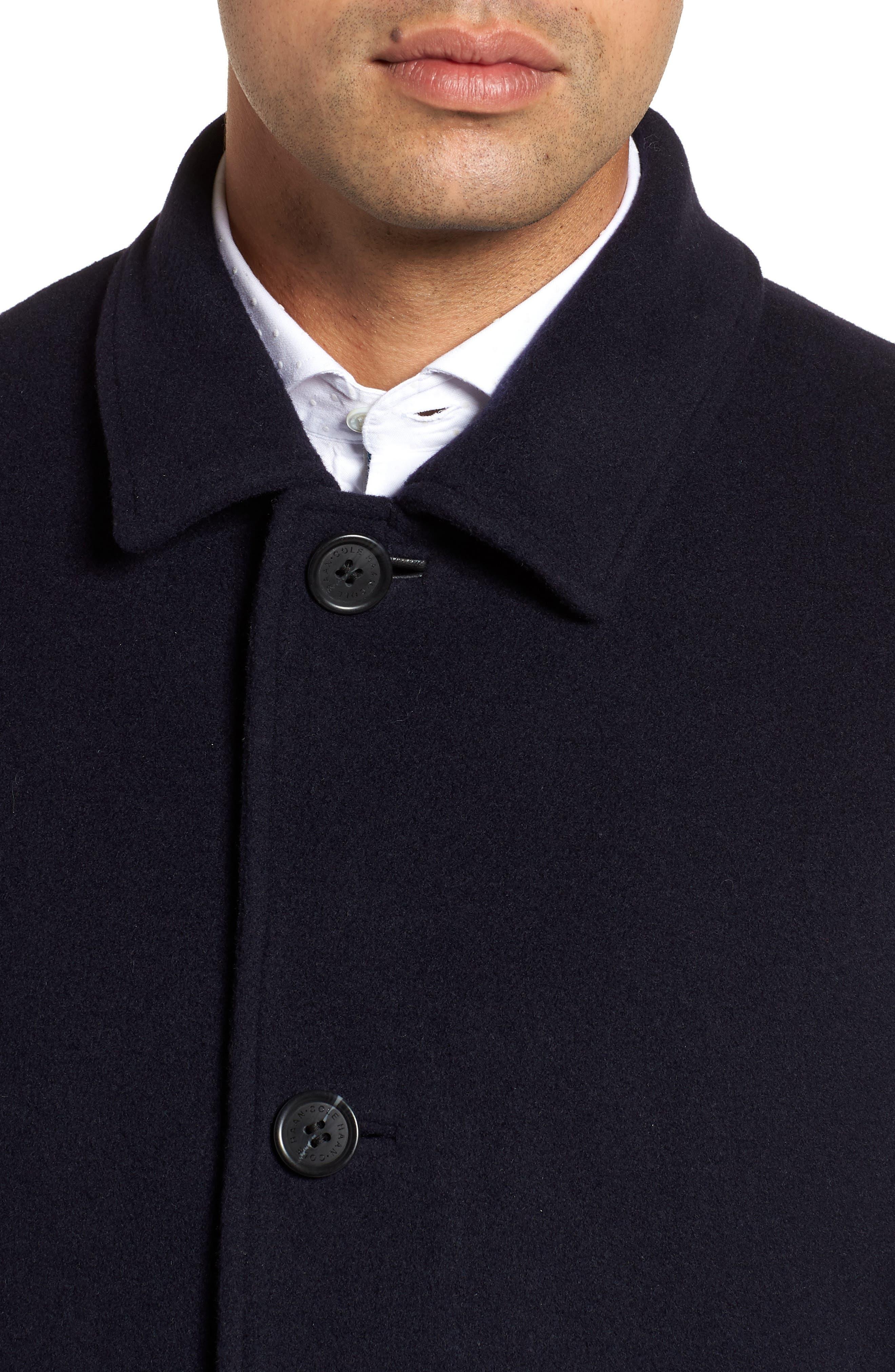 Italian Wool Blend Overcoat,                             Alternate thumbnail 13, color,