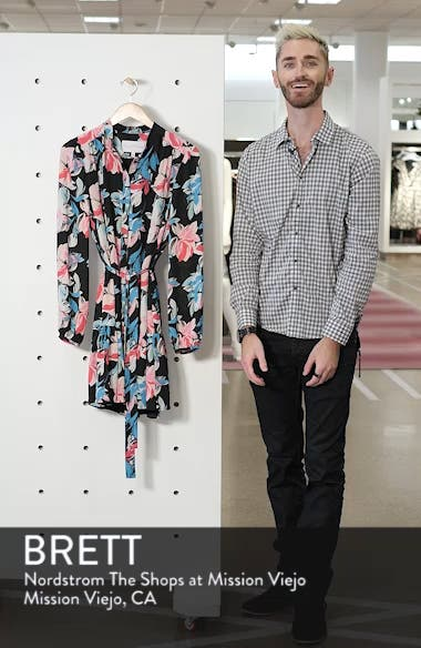Ruffle Hem Henley Shirtdress, sales video thumbnail