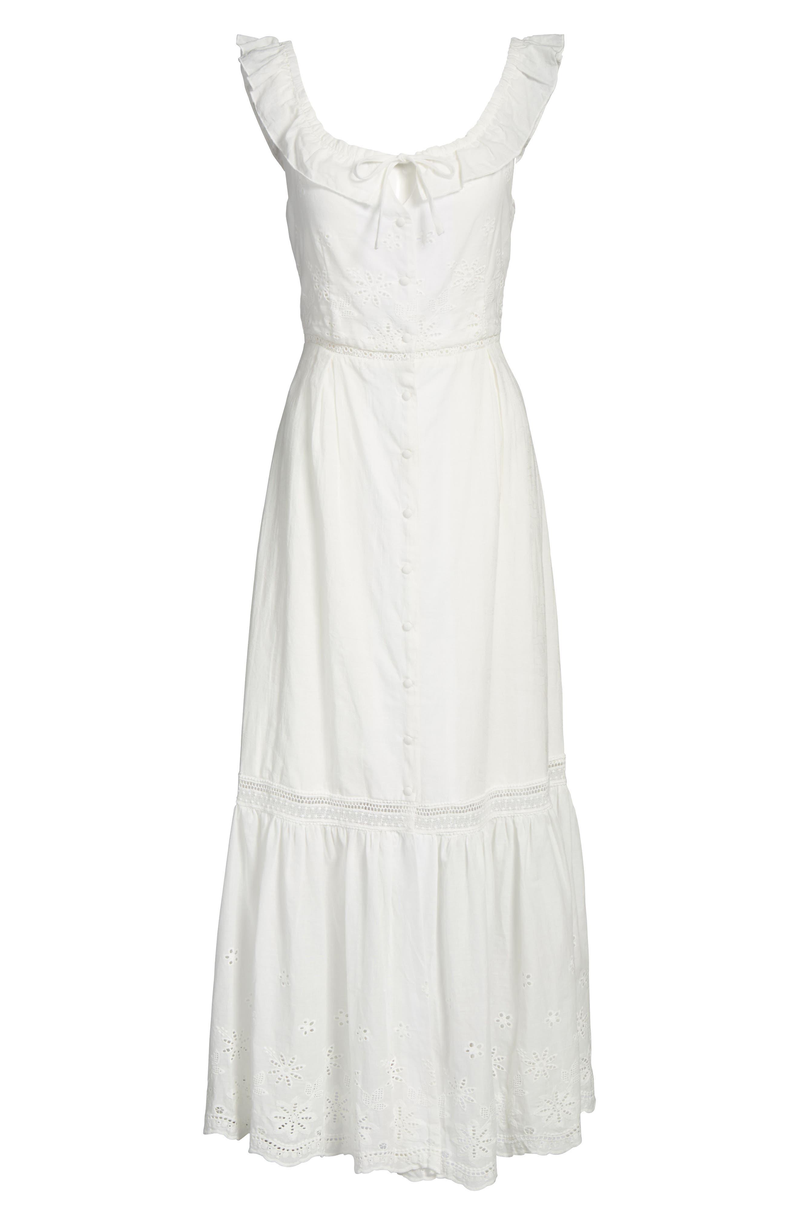 Sky Might Fall Midi Dress,                             Alternate thumbnail 6, color,                             901