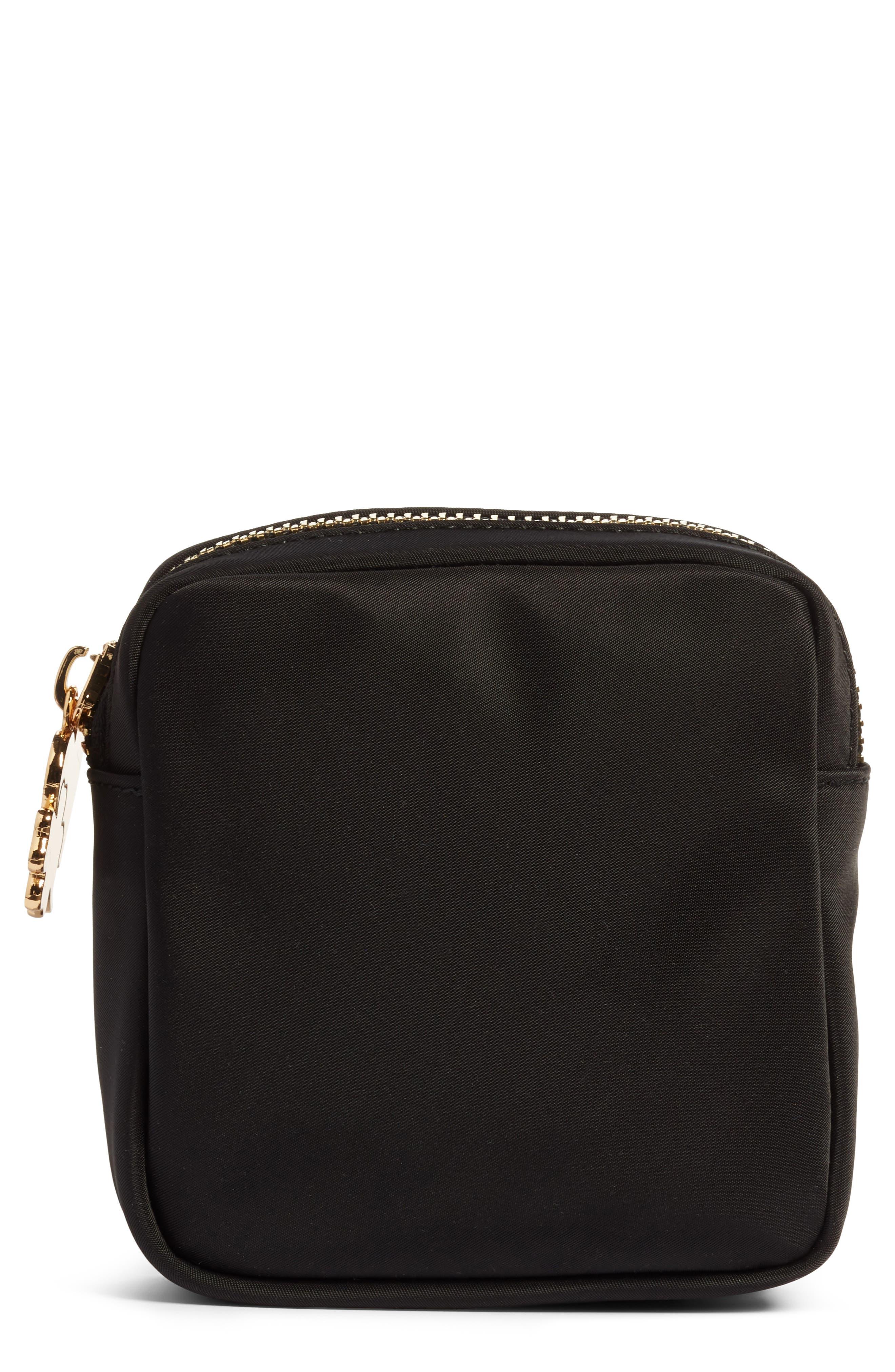 STONEY CLOVER LANE Nylon Mini Pouch in Black
