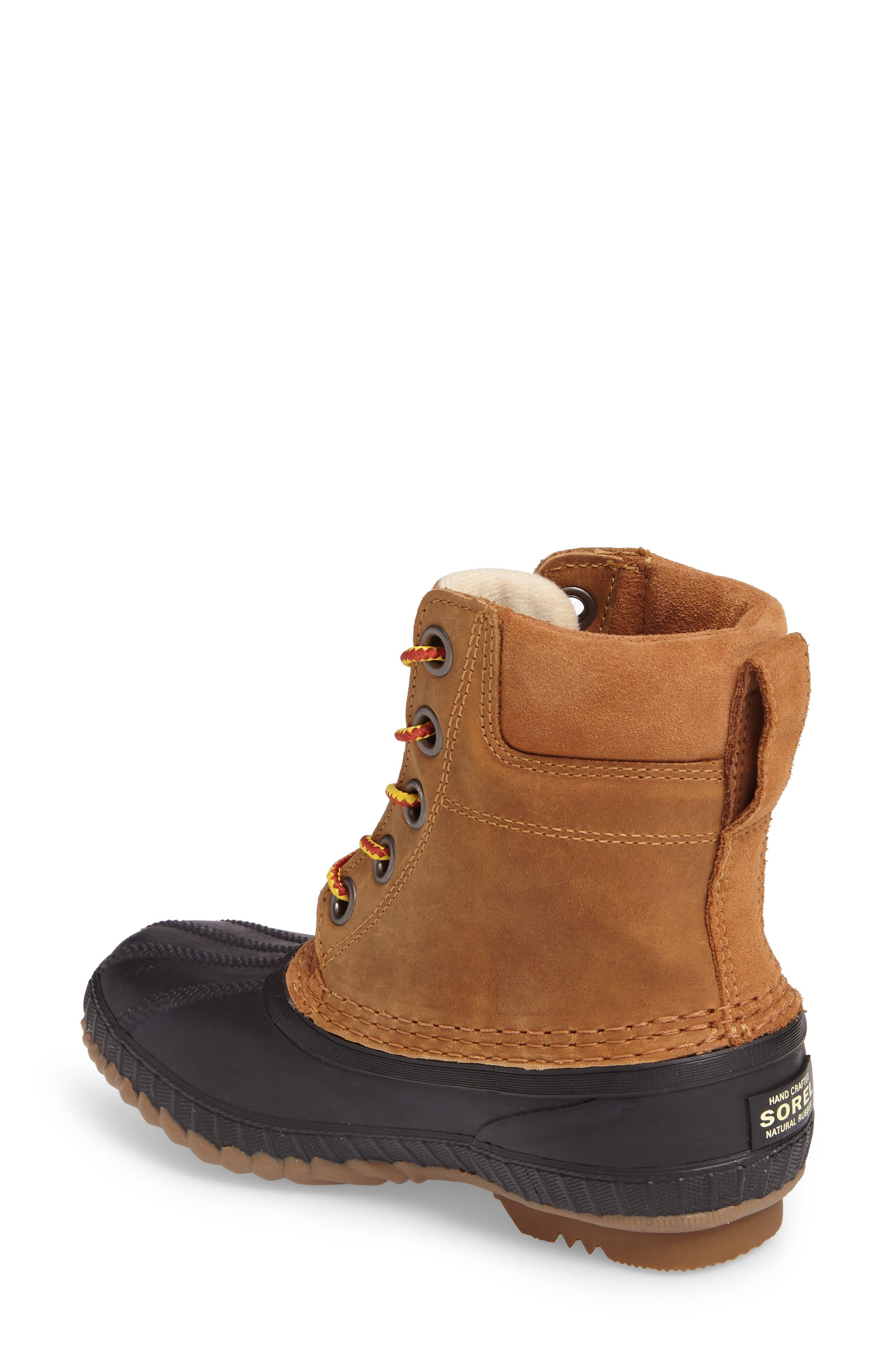 Cheyanne<sup>™</sup> II Waterproof Boot,                             Alternate thumbnail 2, color,                             ELK BLACK