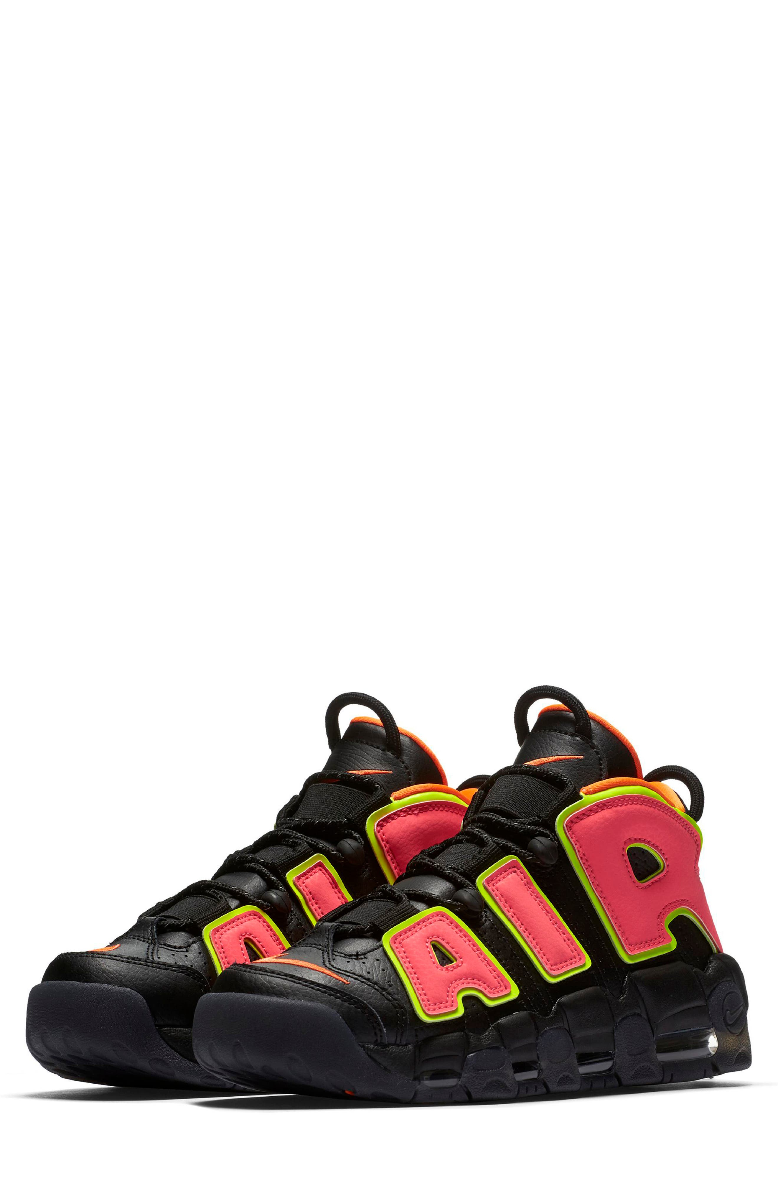 Air More Uptempo Sneaker,                         Main,                         color, 002