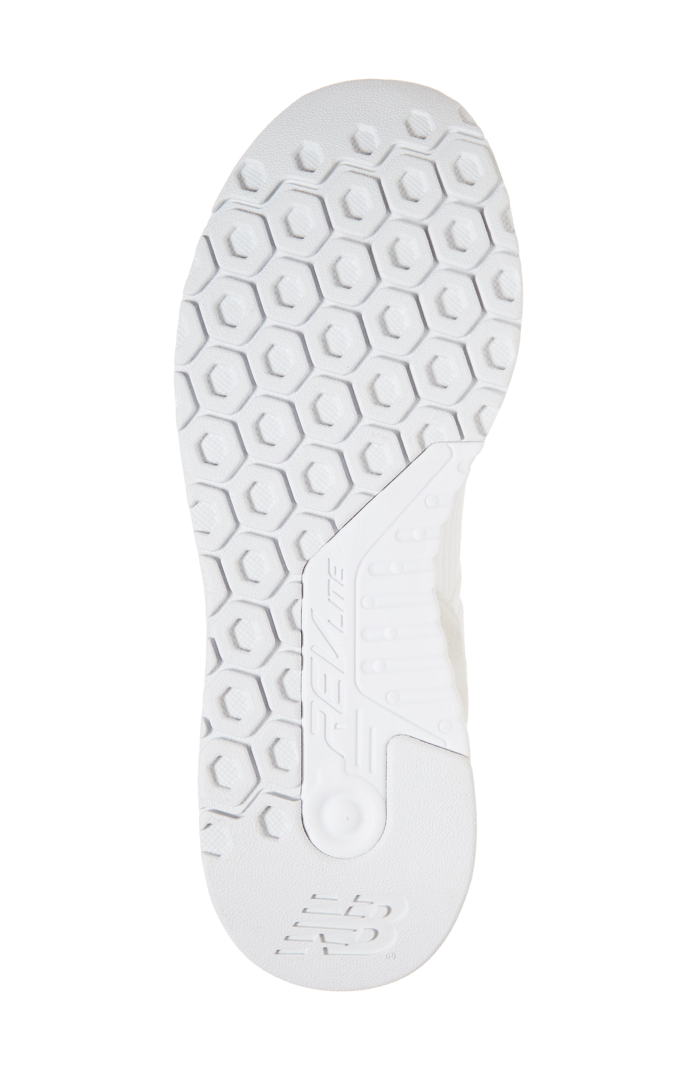247 Knit Sneaker,                             Alternate thumbnail 6, color,                             WHITE