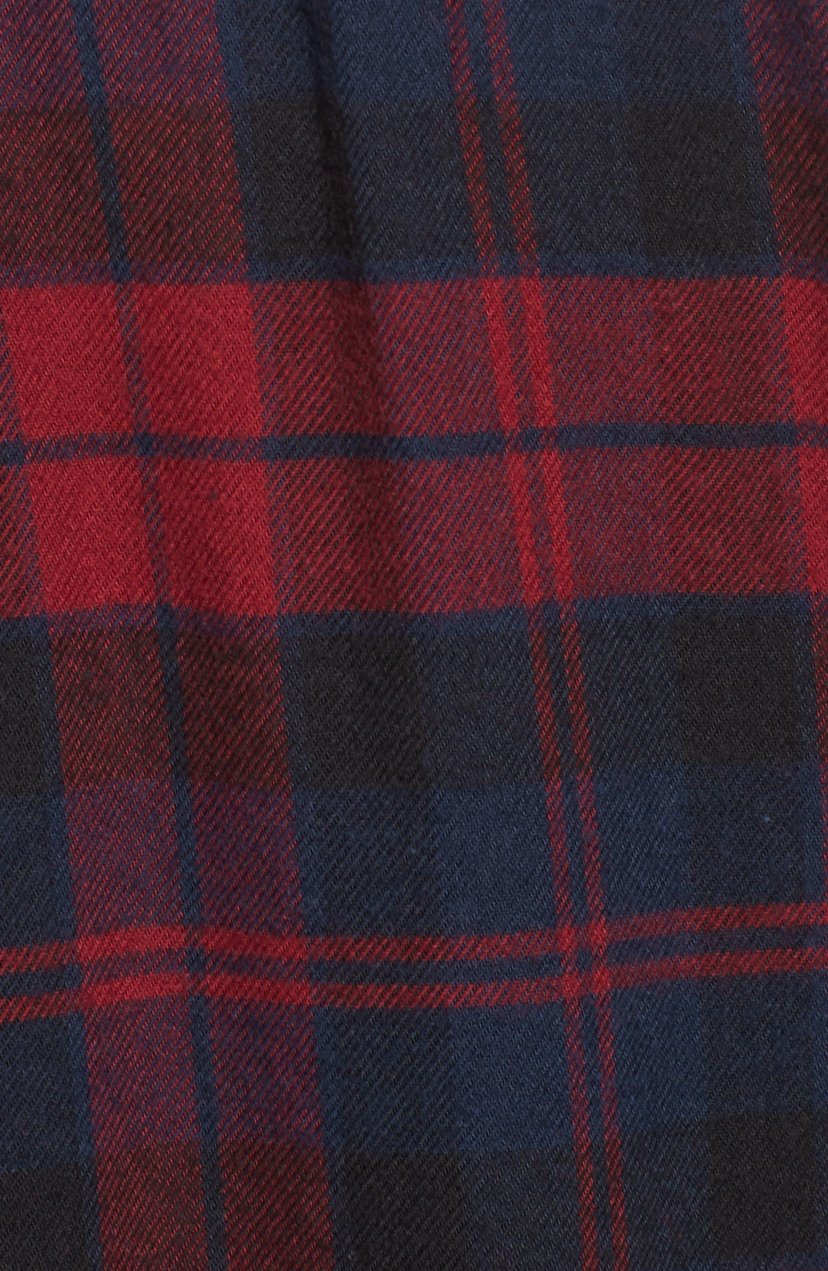 Rex Studded Plaid Shirt,                             Alternate thumbnail 5, color,                             622