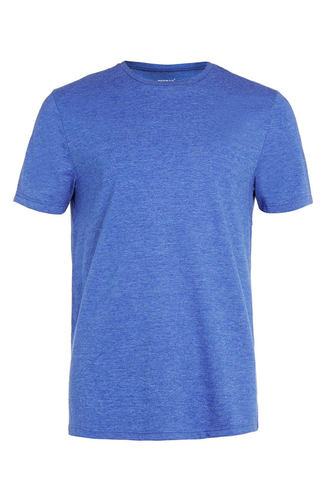 Slim Fit Crewneck T-Shirt,                             Alternate thumbnail 414, color,