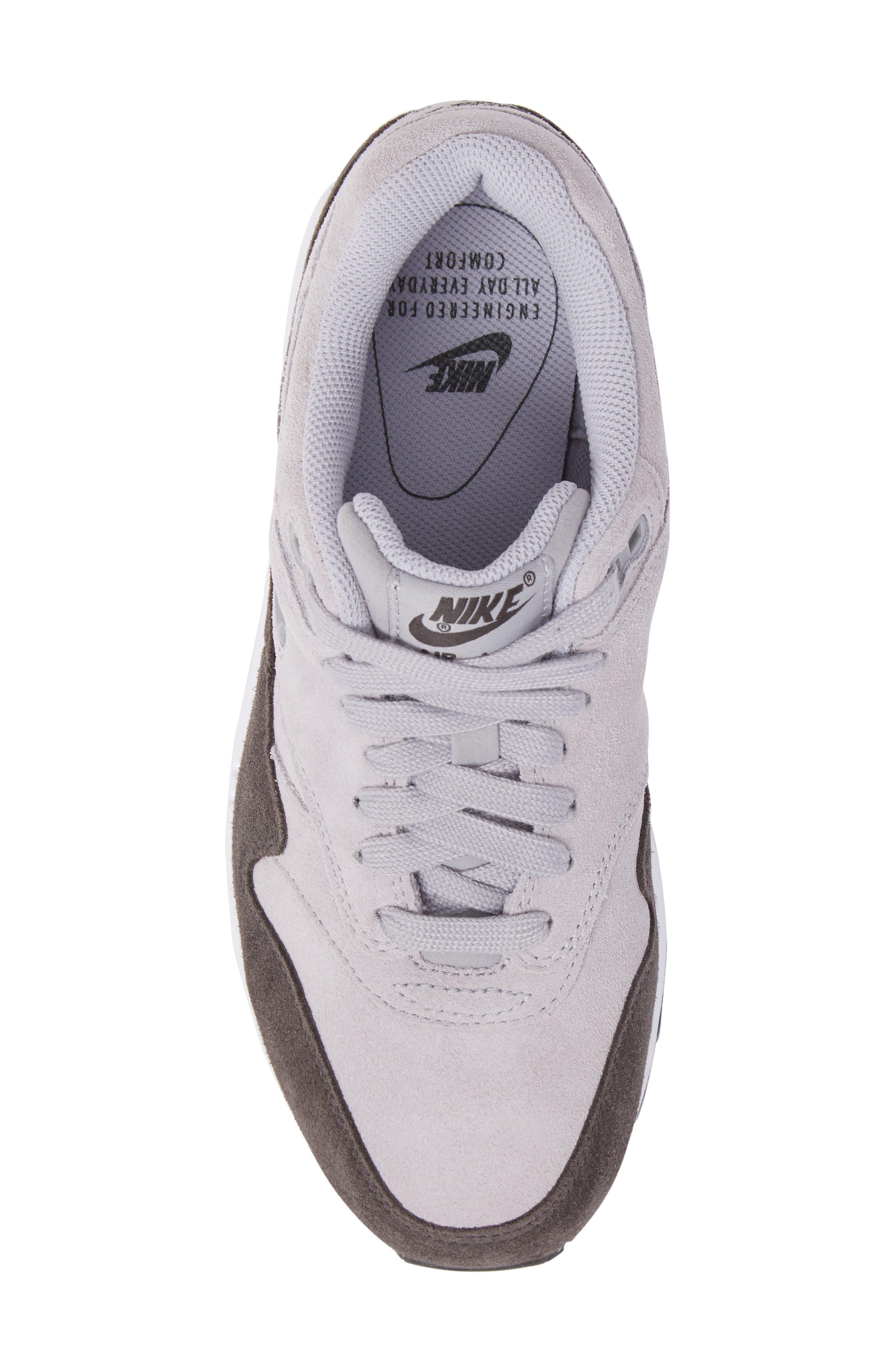 Air Max 1 Premium SC Sneaker,                             Alternate thumbnail 5, color,                             020