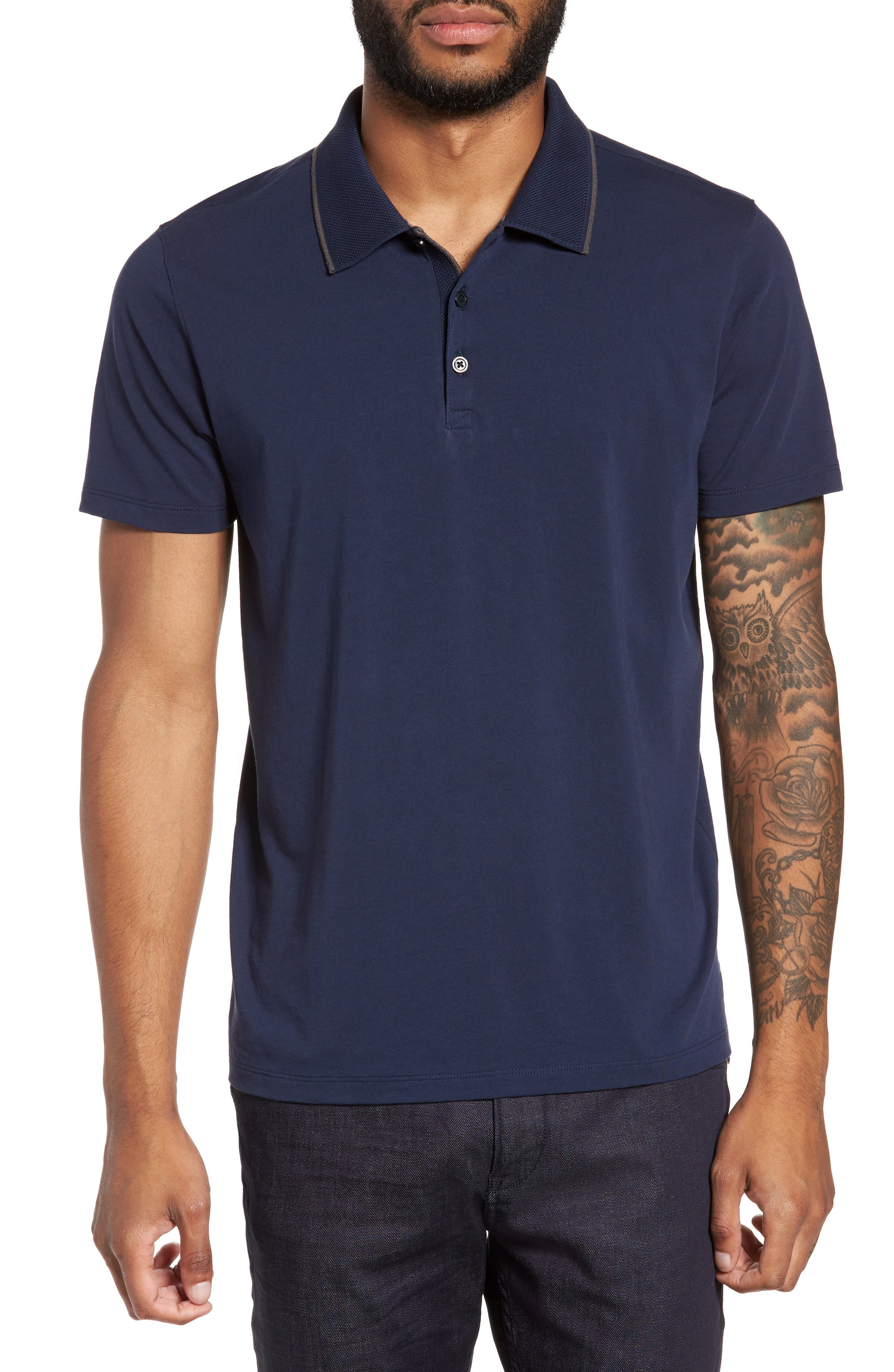 Grindstone Slim Fit Polo,                             Main thumbnail 1, color,                             410