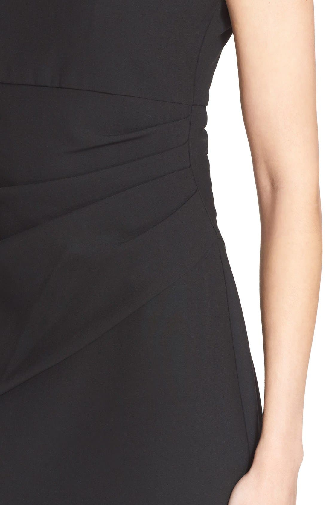 'Bevin' Sheath Dress,                             Alternate thumbnail 4, color,                             001