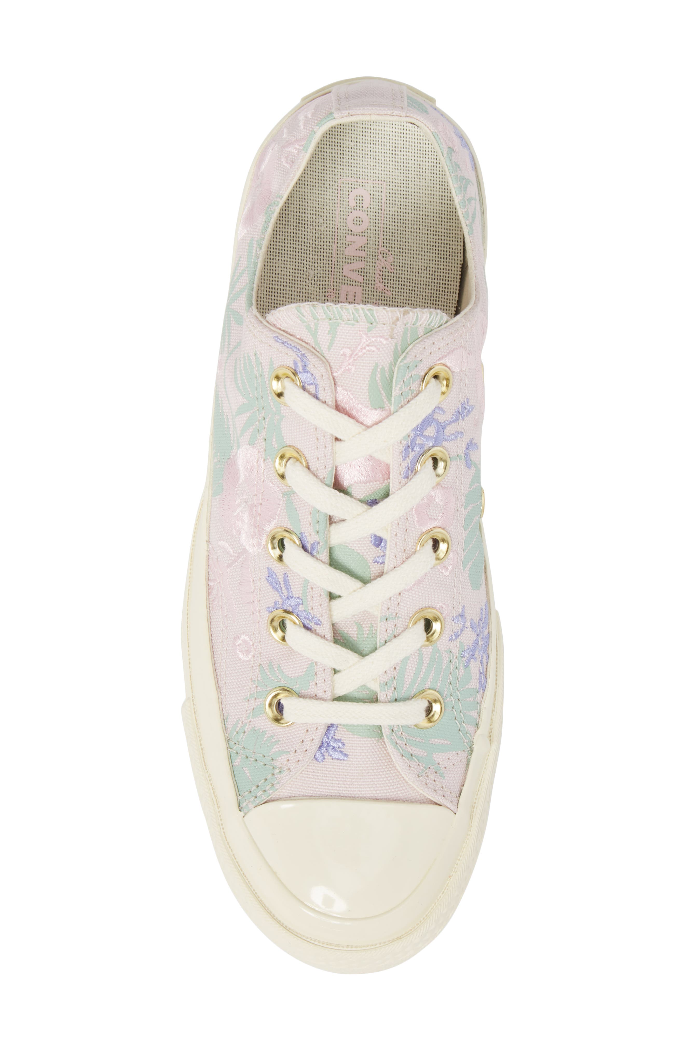 Chuck Taylor<sup>®</sup> All Star<sup>®</sup> 70 Palm Print Low Top Sneaker,                             Alternate thumbnail 5, color,                             658