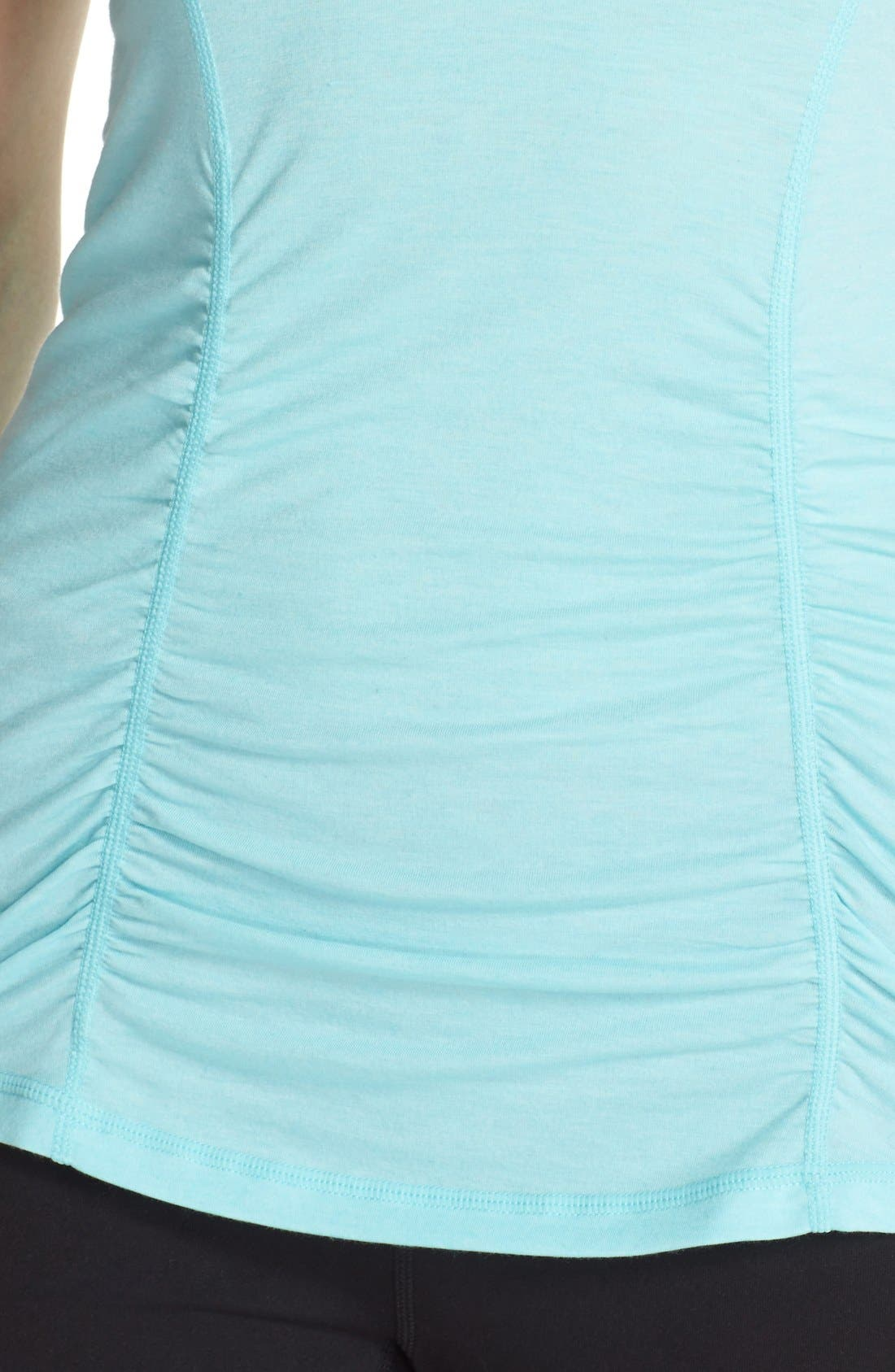 'Z 6' Ruched Tee,                             Alternate thumbnail 64, color,