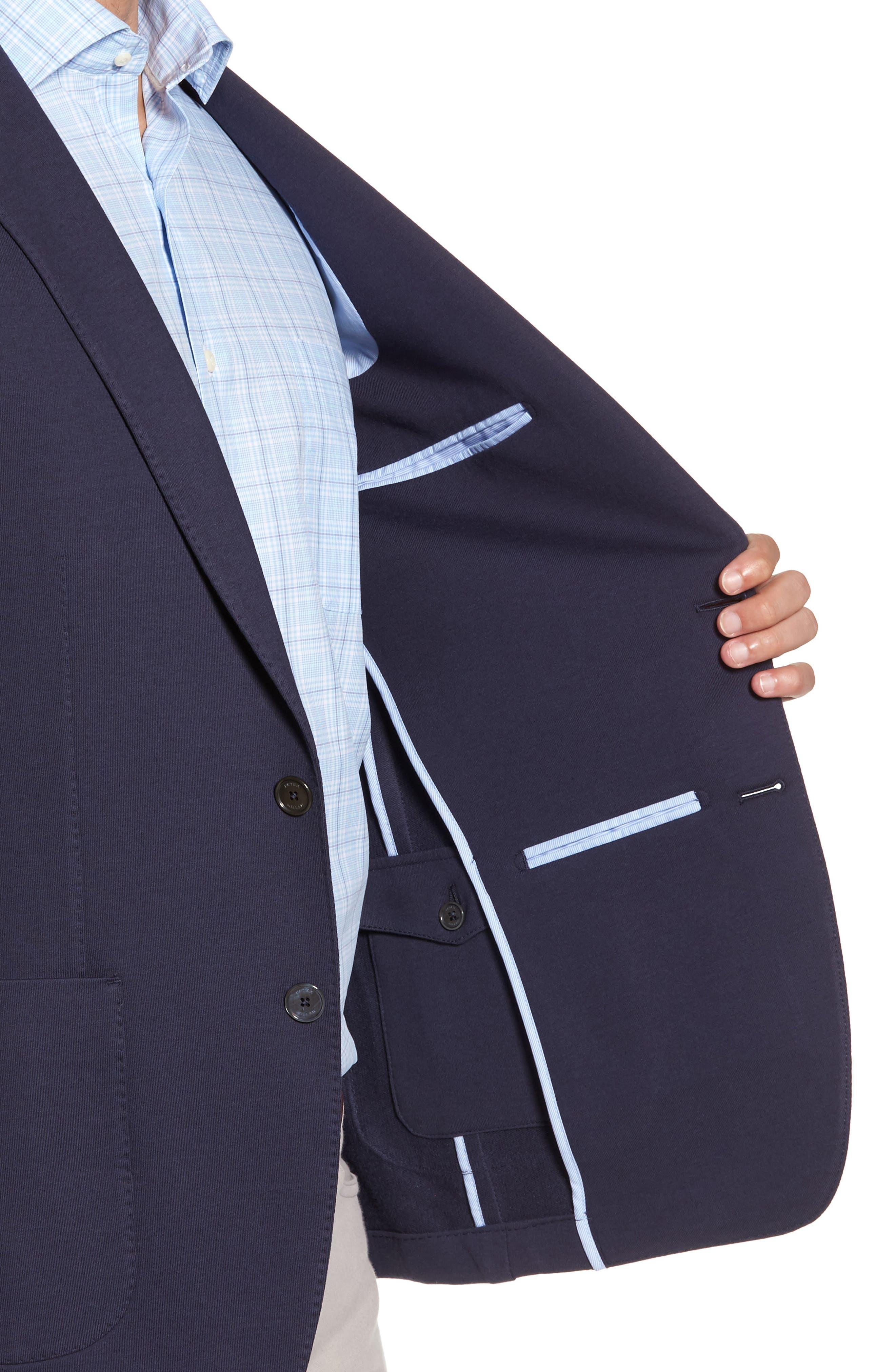 Santorini Jersey Knit Jacket,                             Alternate thumbnail 3, color,                             417