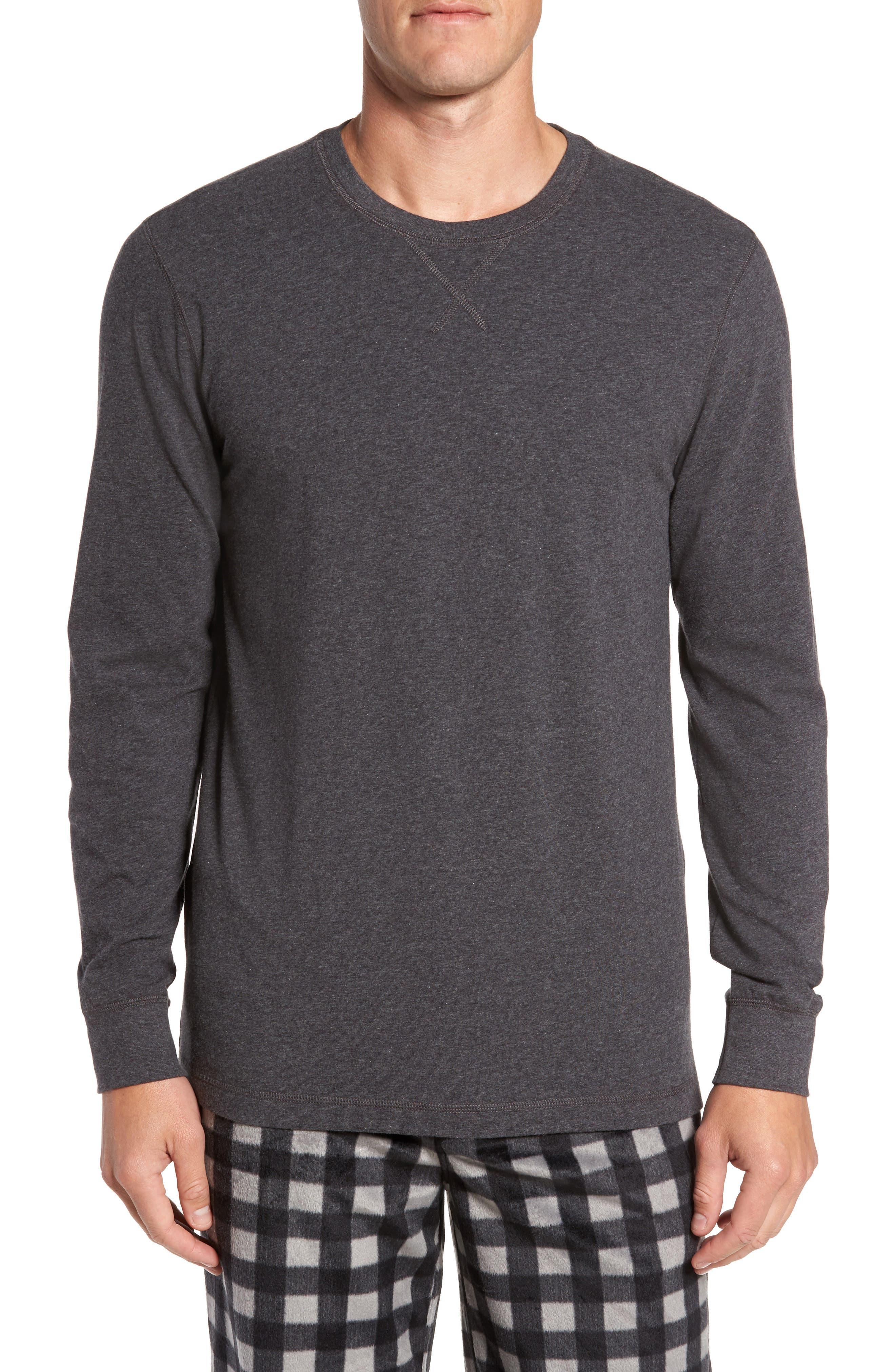 Stretch Cotton Long Sleeve T-Shirt,                             Main thumbnail 2, color,