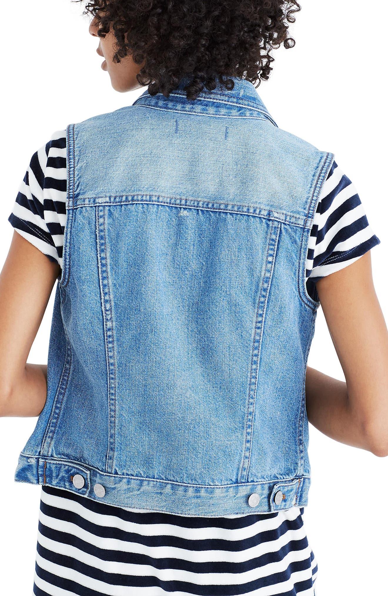 The Jean Vest,                             Alternate thumbnail 2, color,