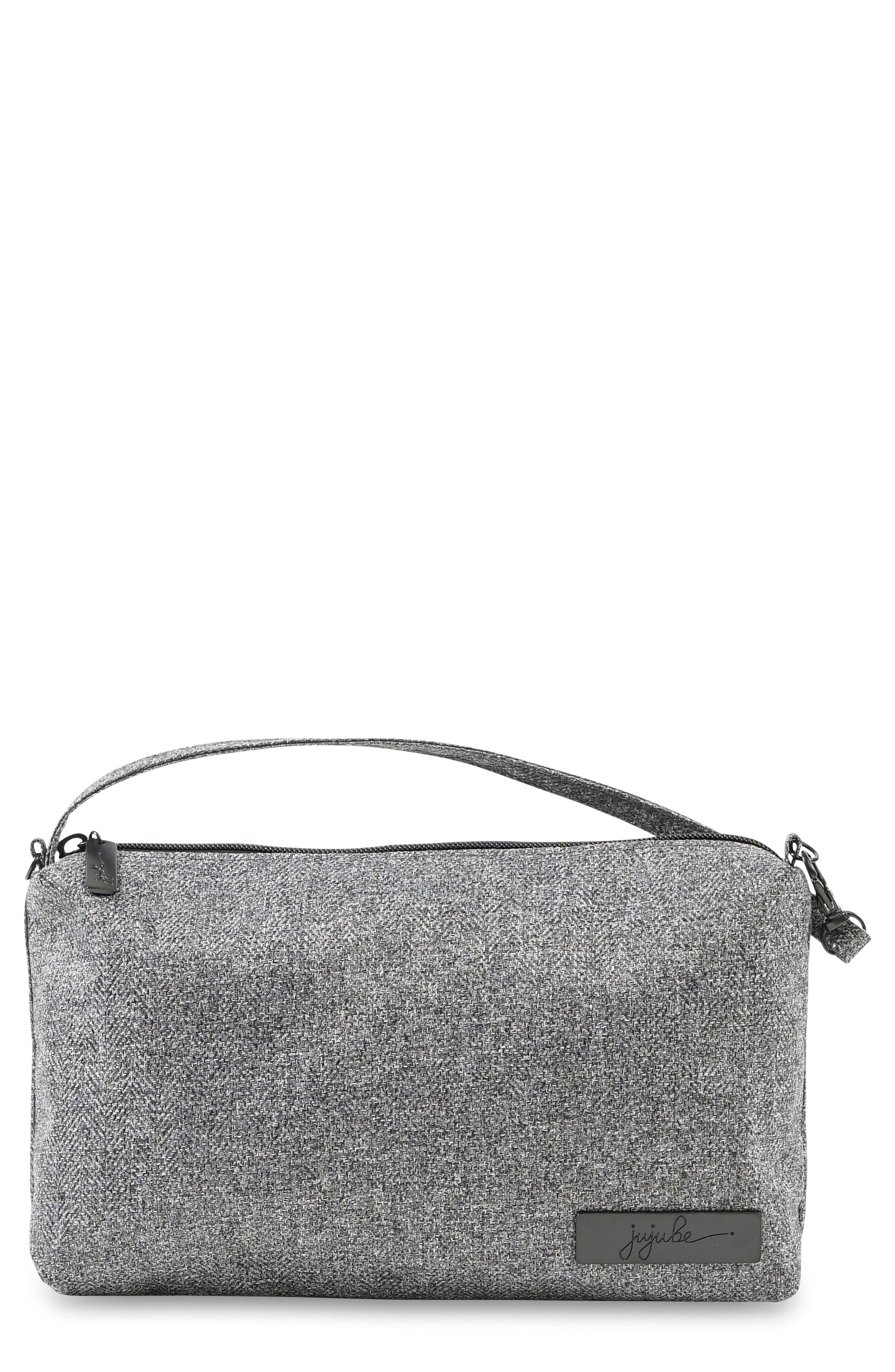 'Be Quick - Onyx Collection' Wristlet Pouch,                         Main,                         color, 035