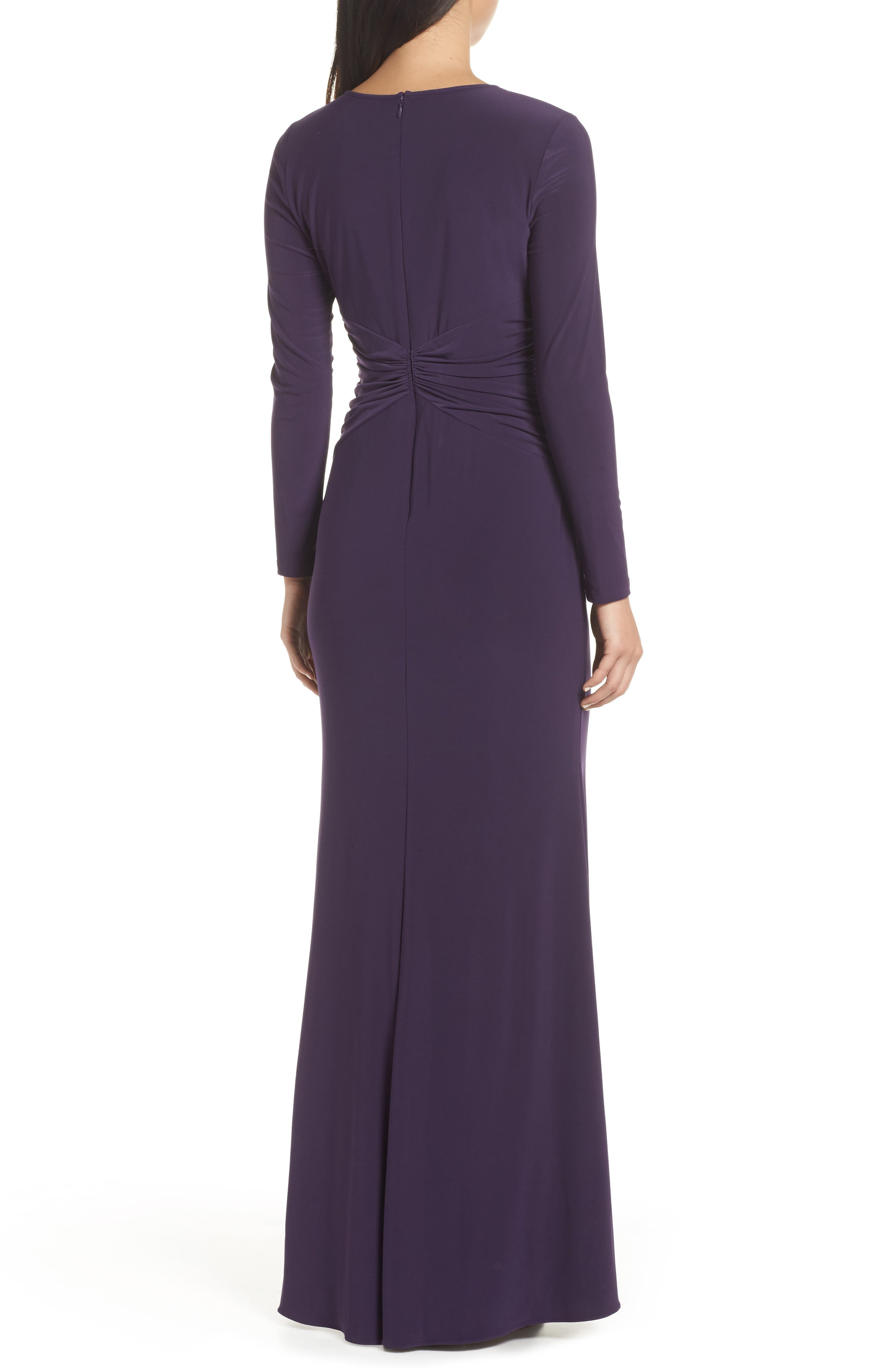 ADRIANNA PAPELL,                             Twist Waist Knit Dress,                             Alternate thumbnail 2, color,                             501