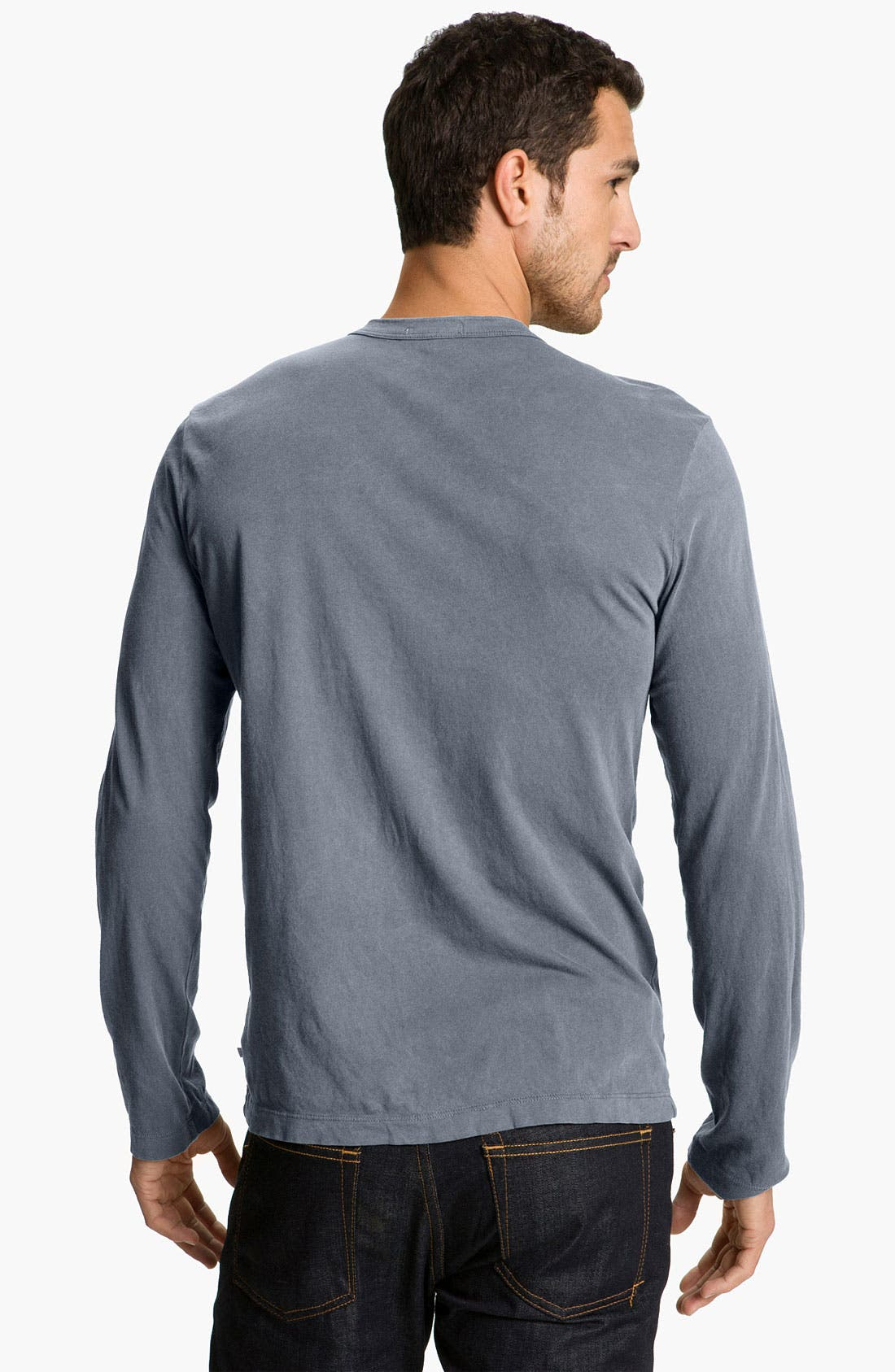 Long Sleeve Crewneck T-Shirt,                             Alternate thumbnail 44, color,