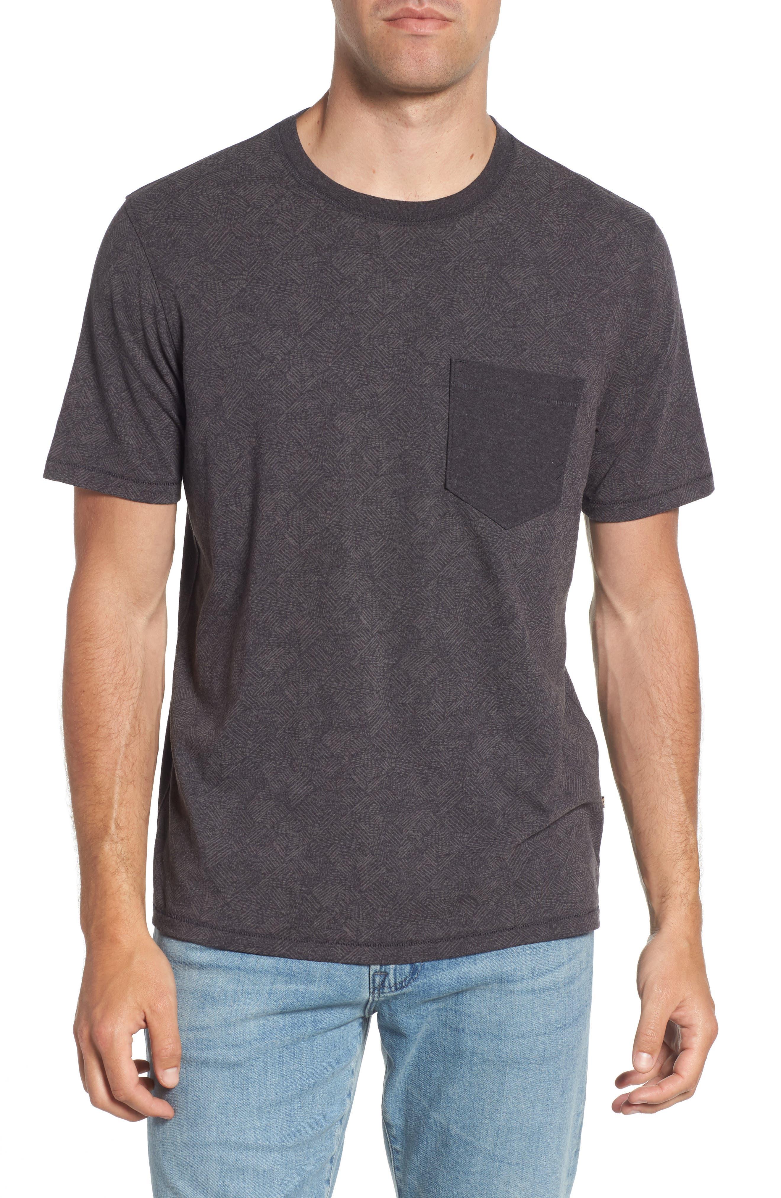 Field Line Crewneck T-Shirt,                         Main,                         color, FIELD LINE
