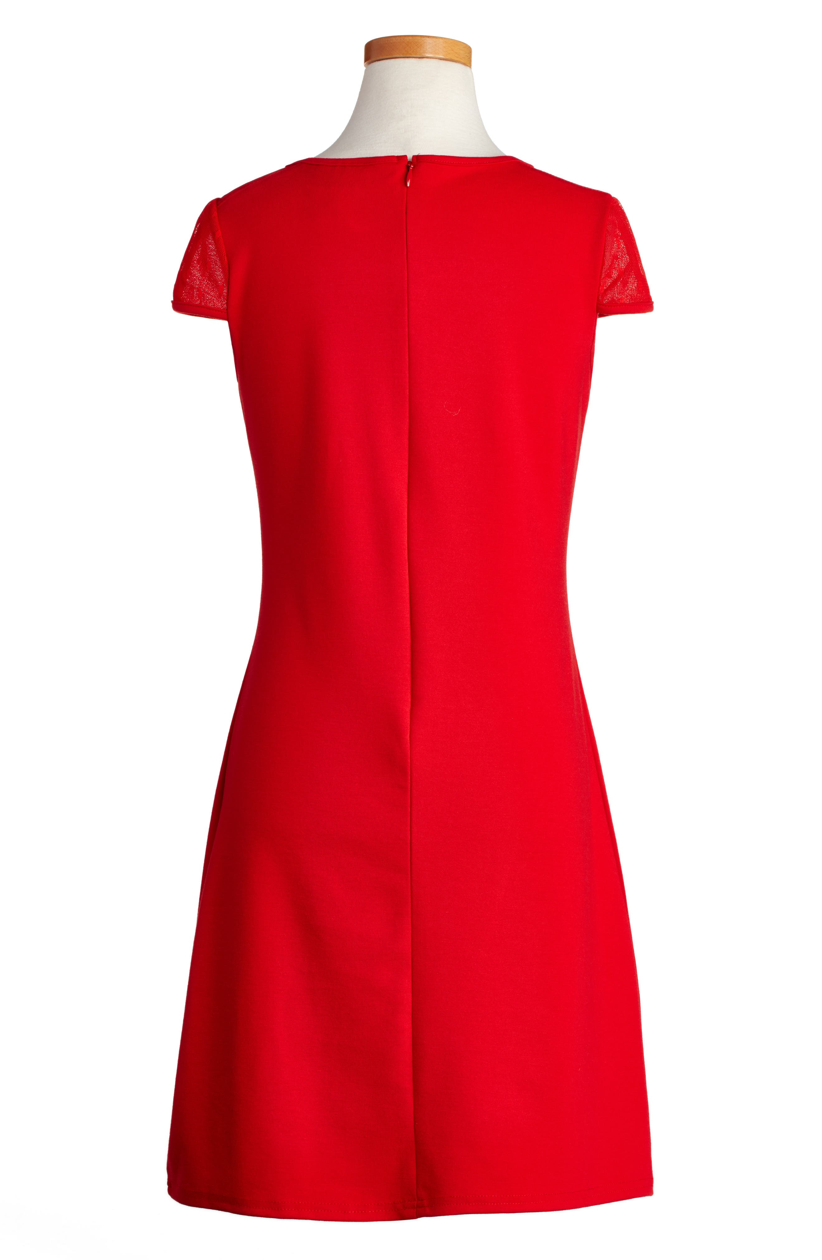 Empire Sheath Dress,                             Alternate thumbnail 4, color,